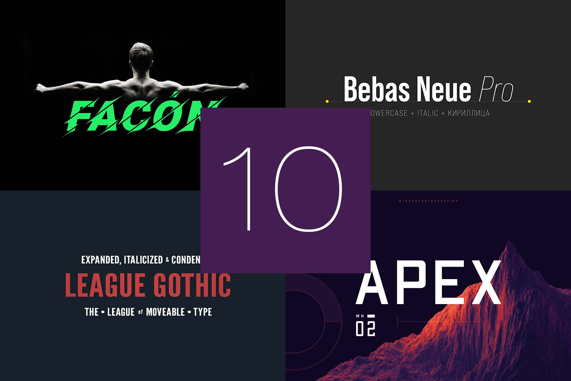 10 Best Fonts for Posters
