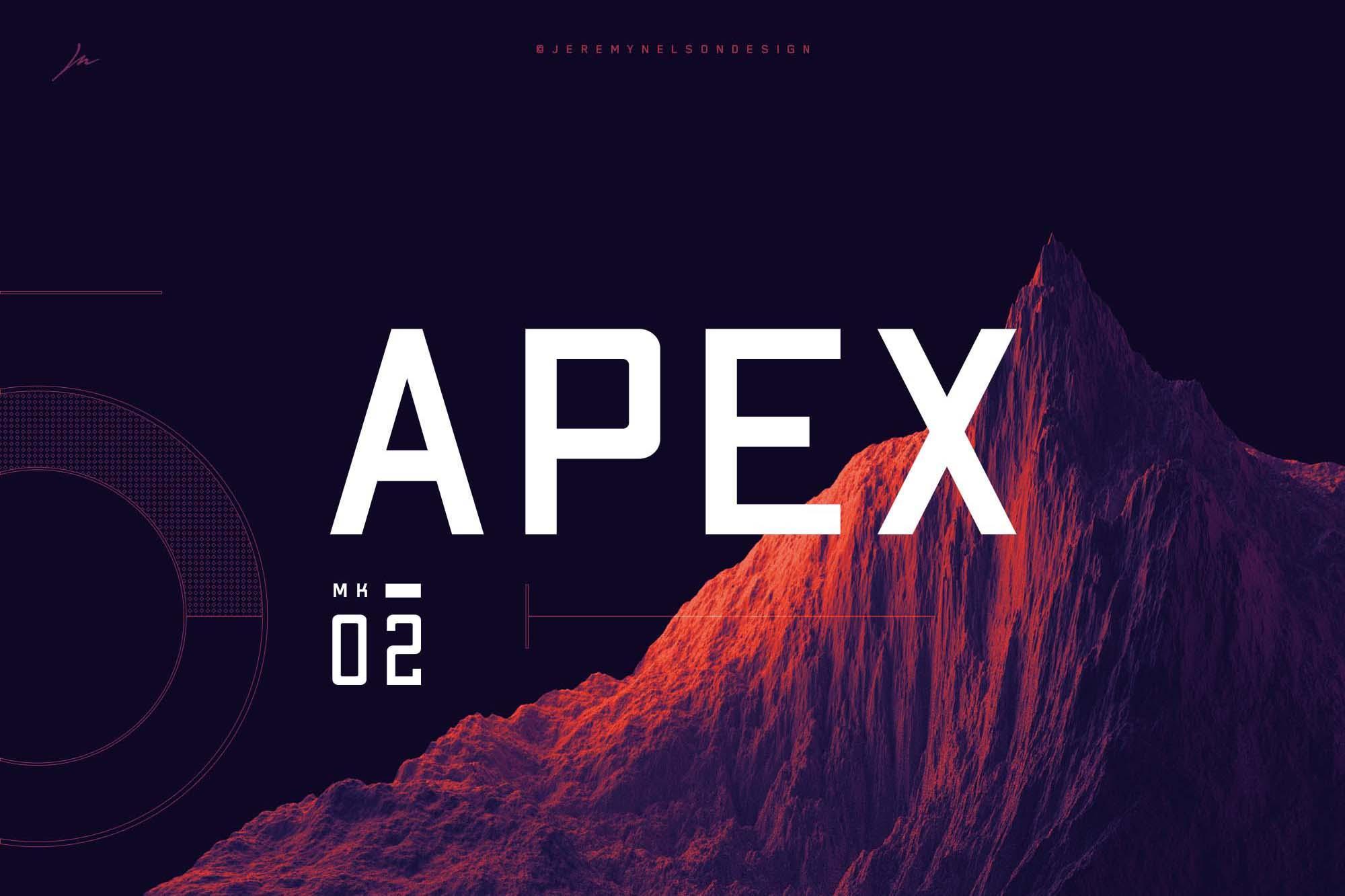 Apex MK2 Sans Serif Font
