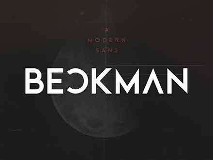 Beckman Sans Font