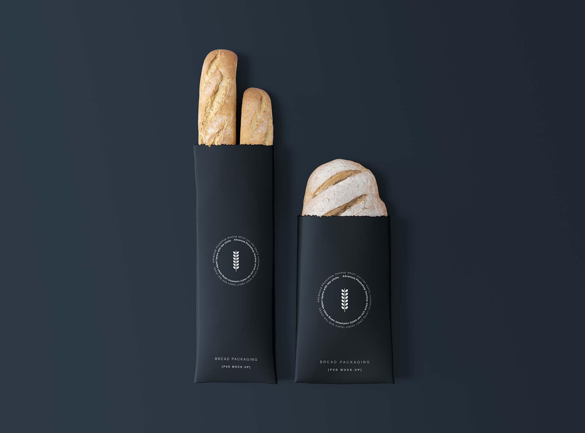 Bread Packaging Mockup 2