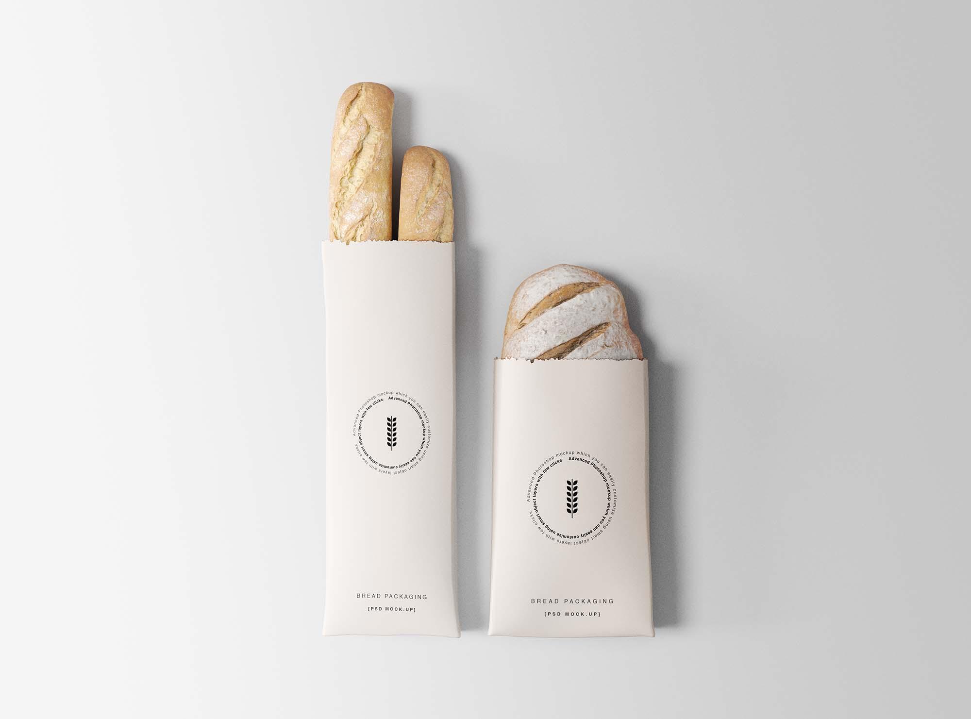 Bread Packaging Mockup