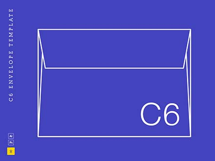 C6 Envelope Template