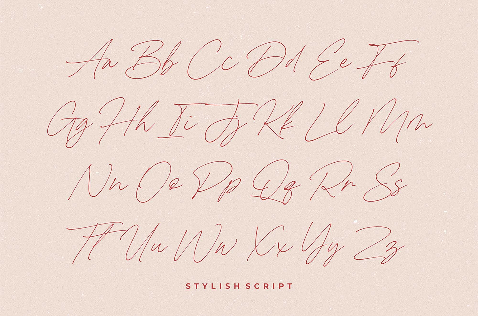 Carneys Gallery Font 10