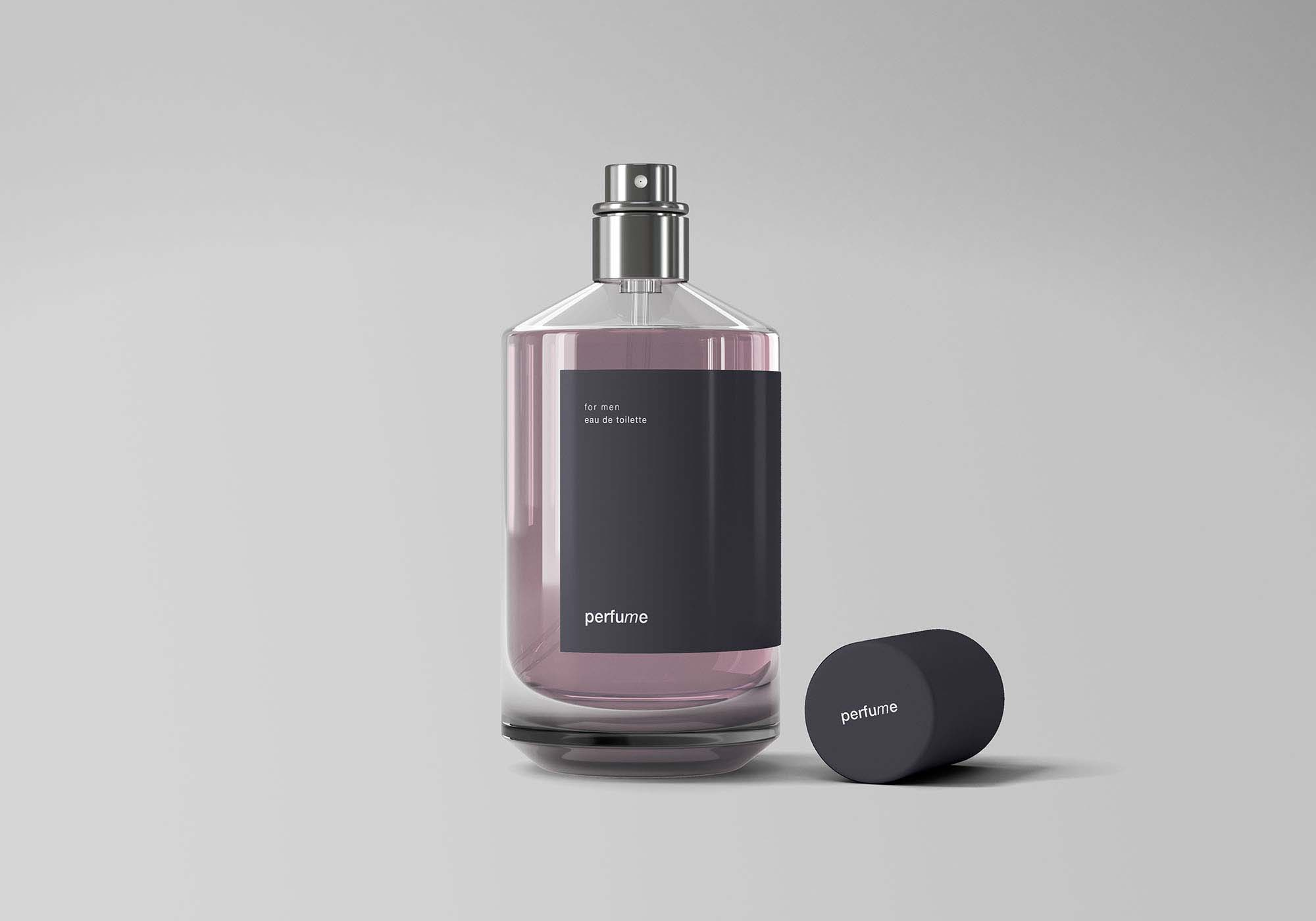 Classic Perfume Mockup