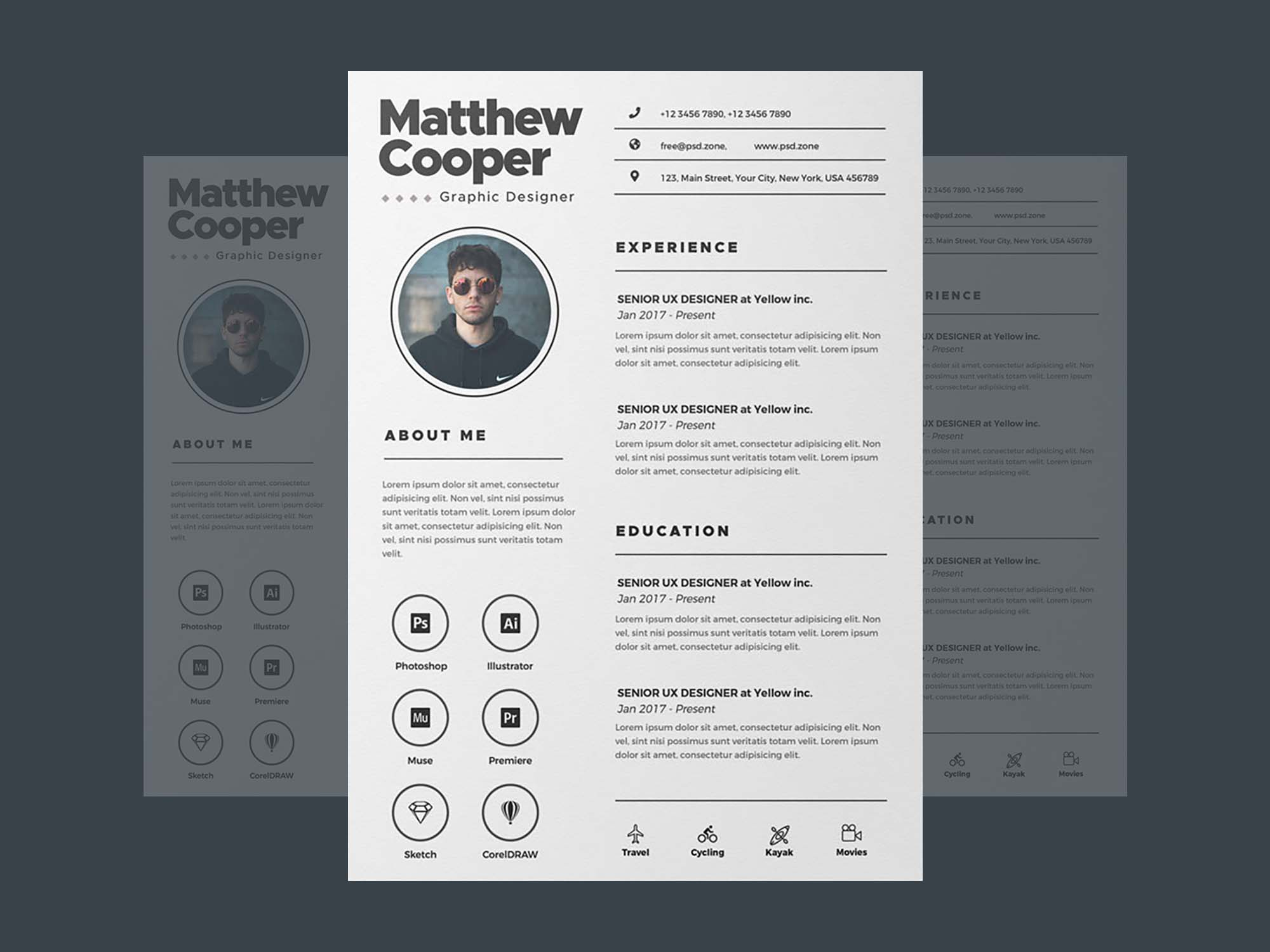 Clean Resume Template 2
