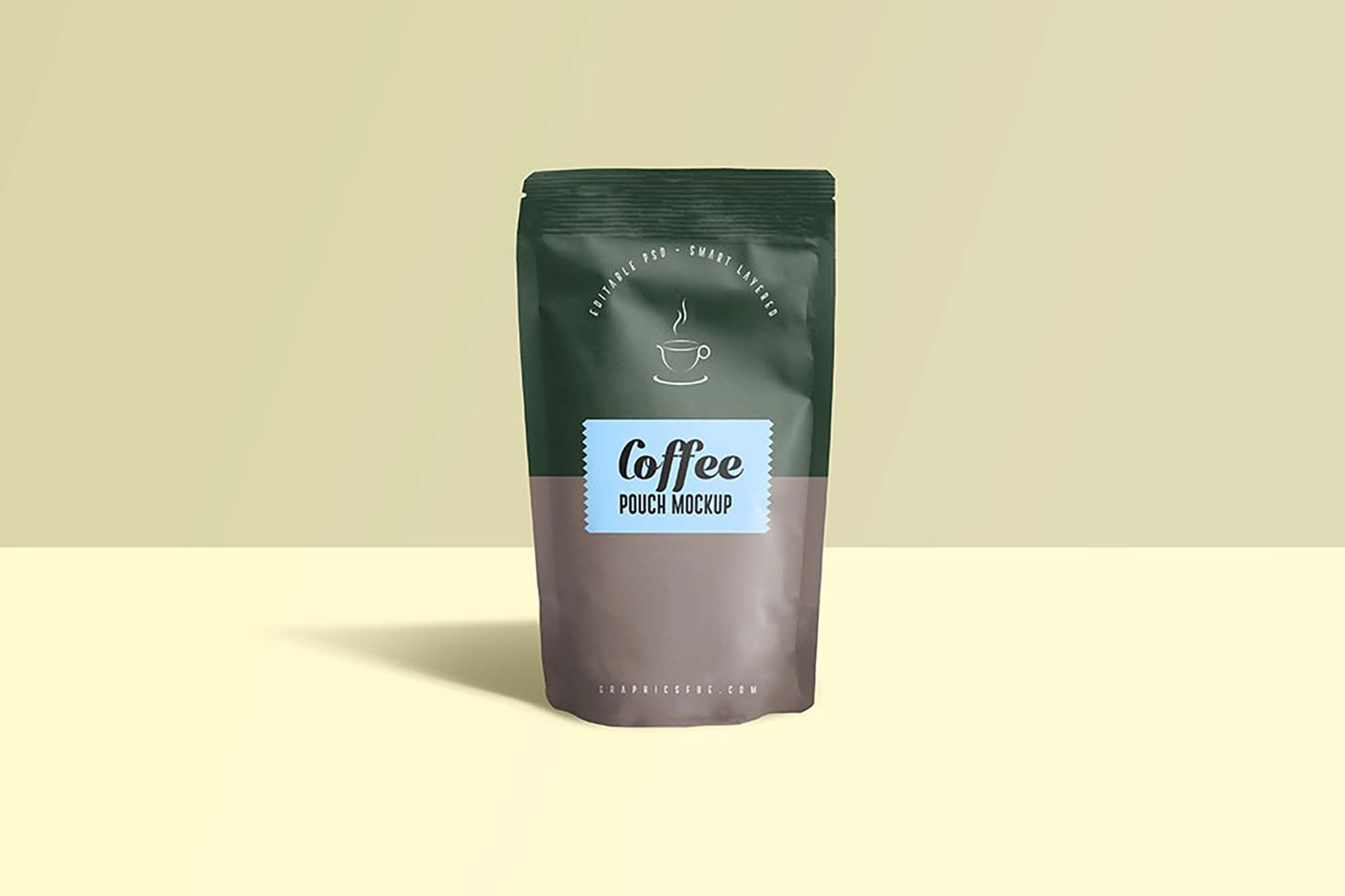 Coffee Pouch Mockup 2