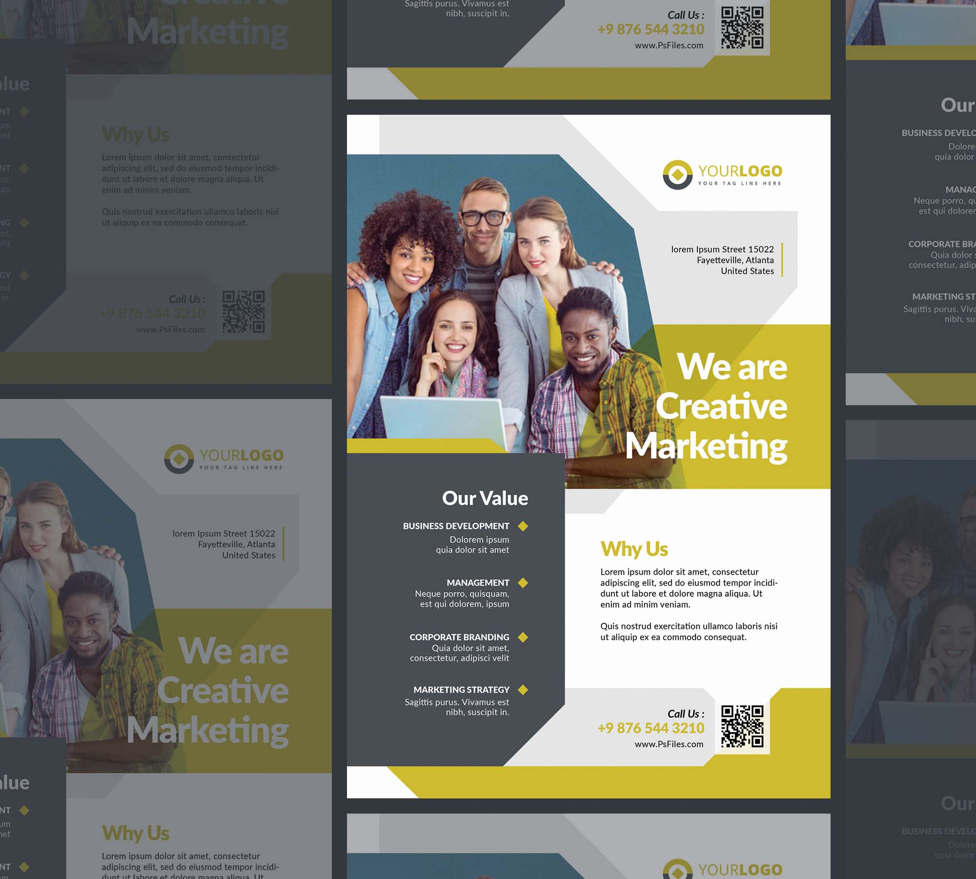 Corporate Business Flyer Template 2