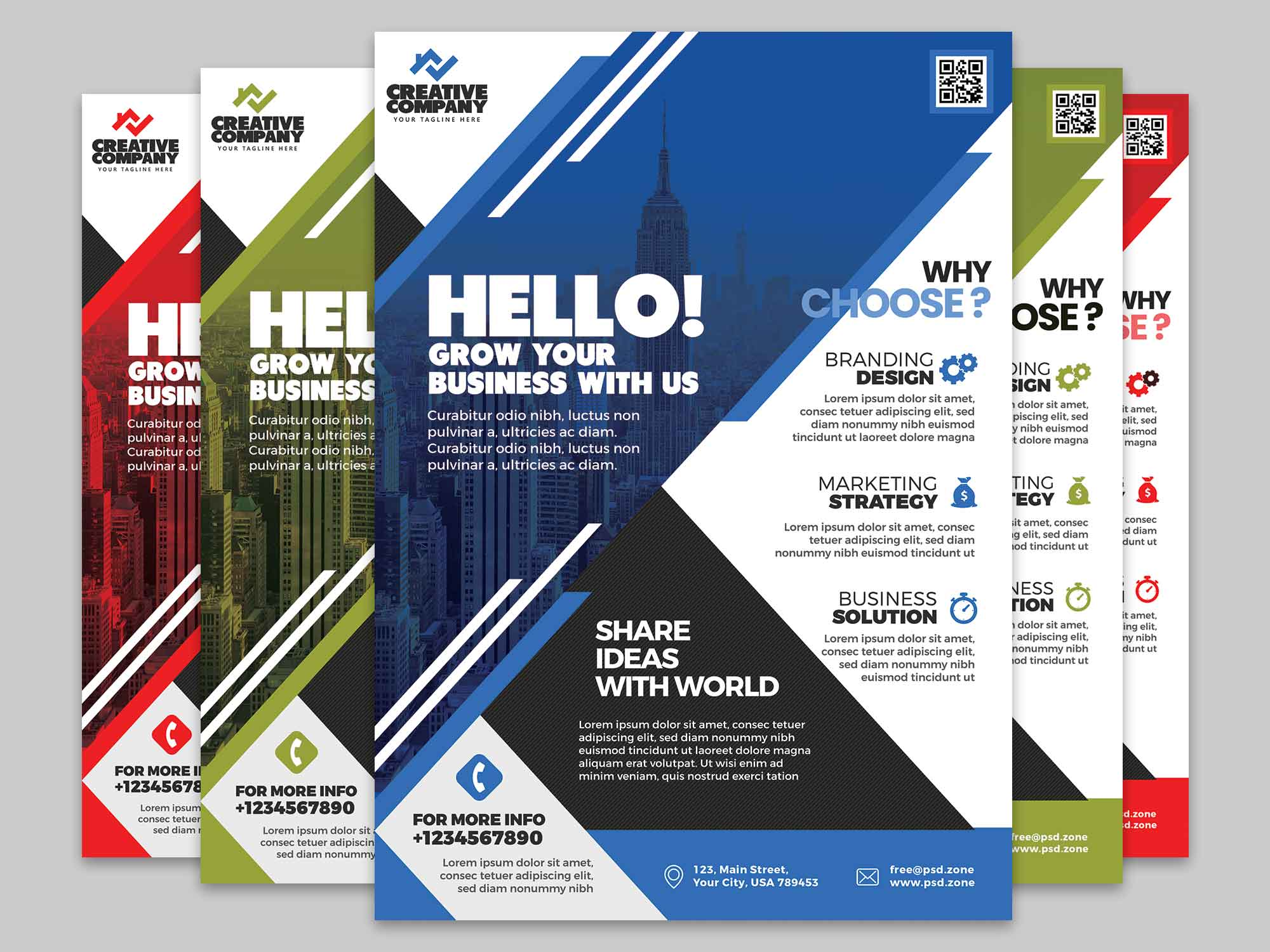 Corporate Flyer Template 2