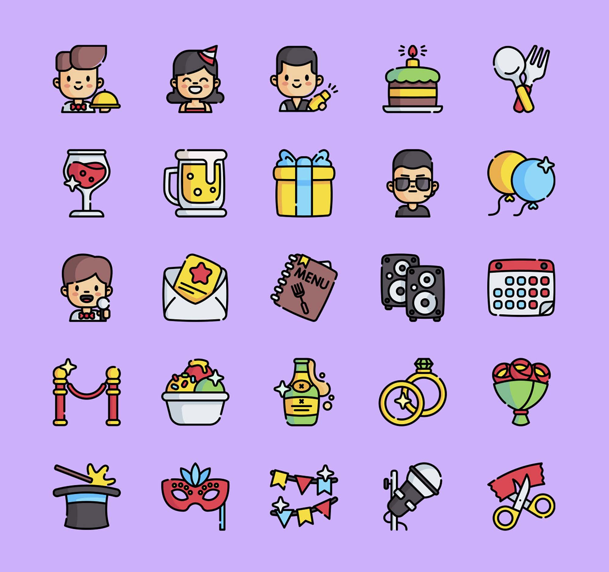 Event Vector Icons 2