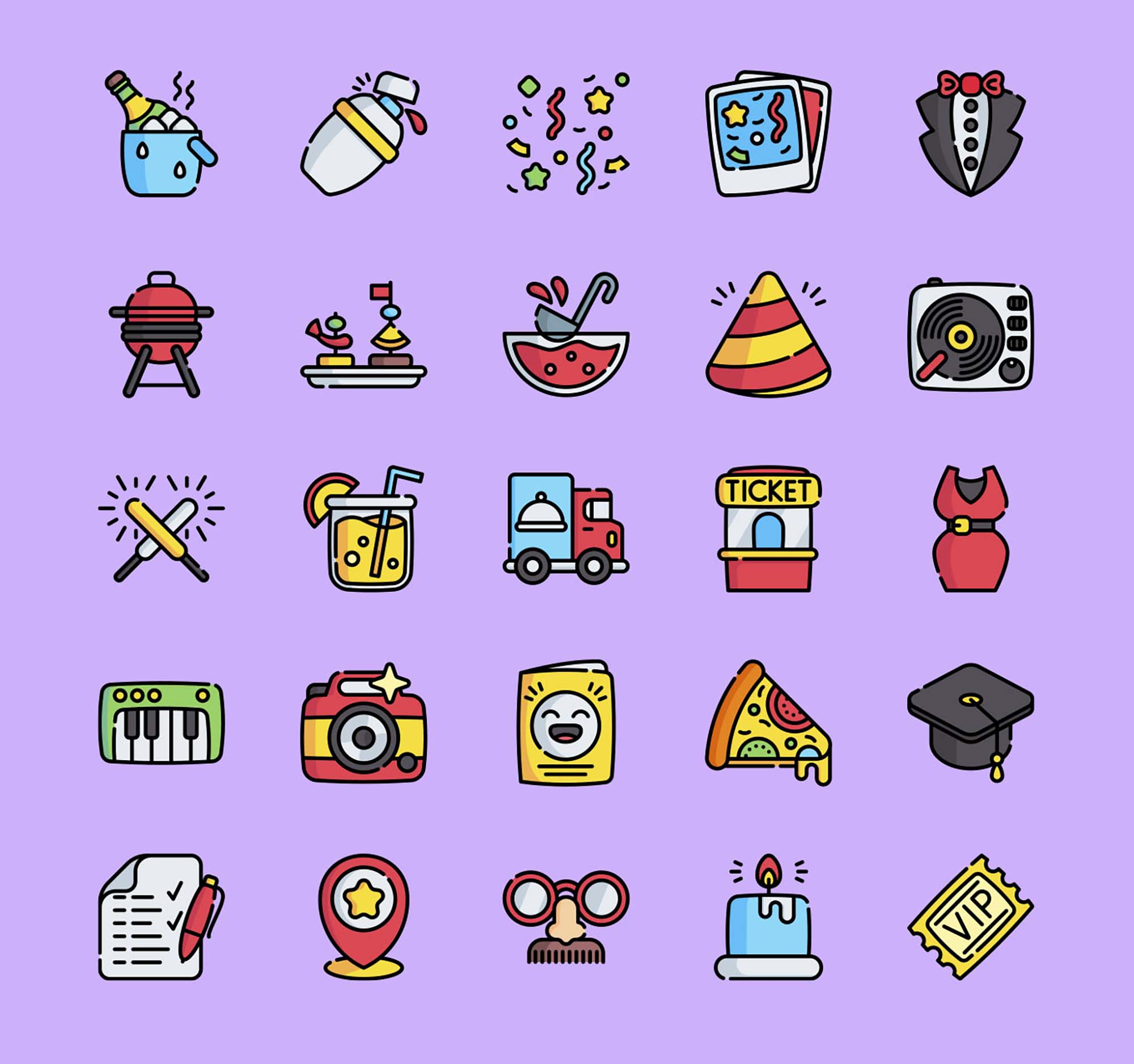 Event Vector Icons 3