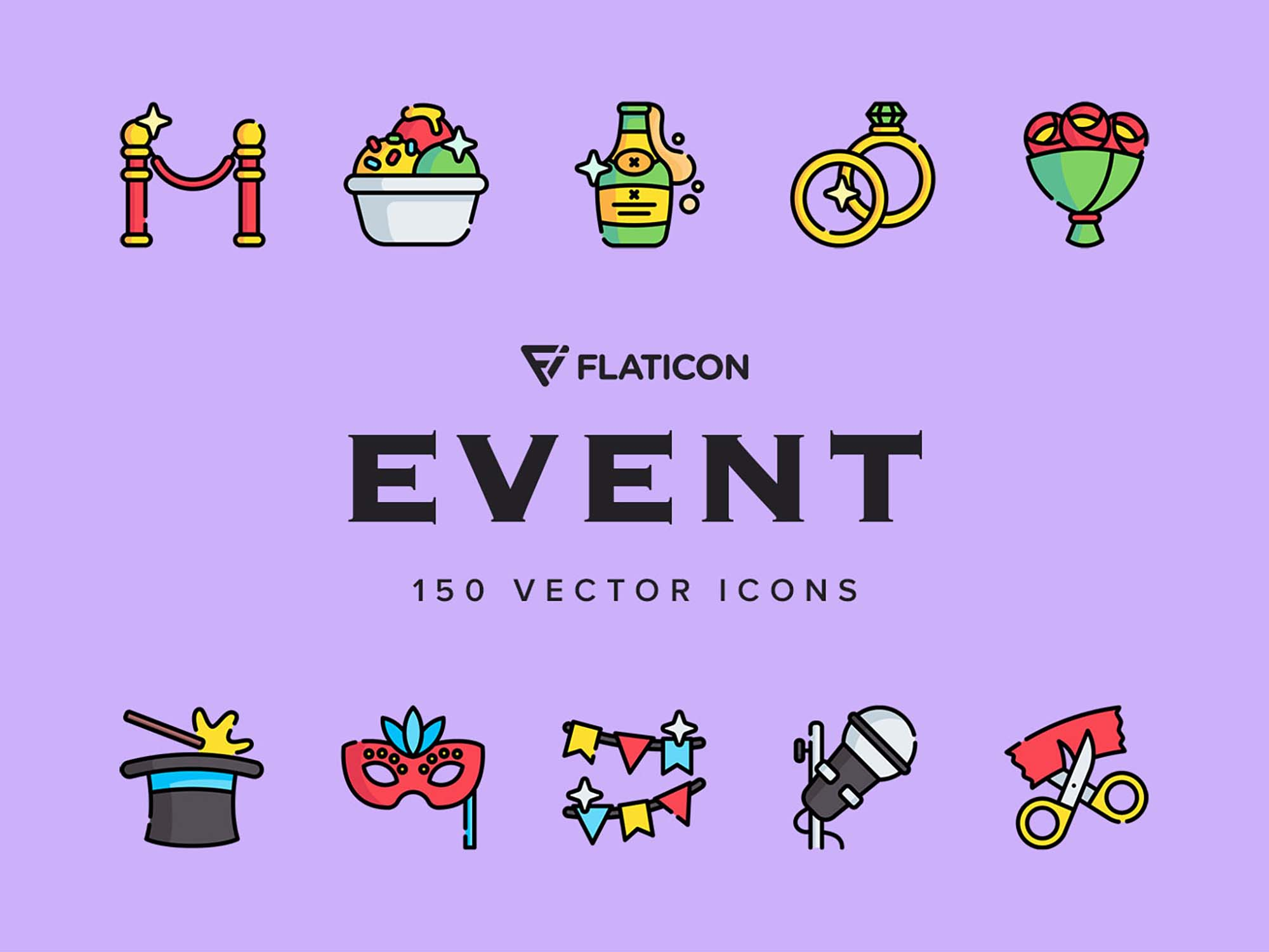 Event Vector Icons