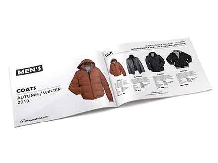 Fashion Line Sheet Brochure Template