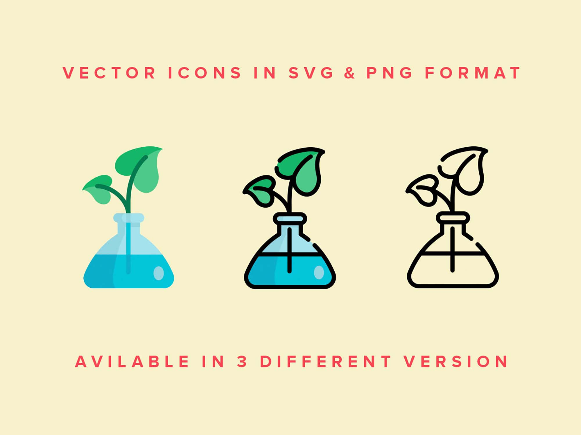 Greenhouse Vector Icons 3