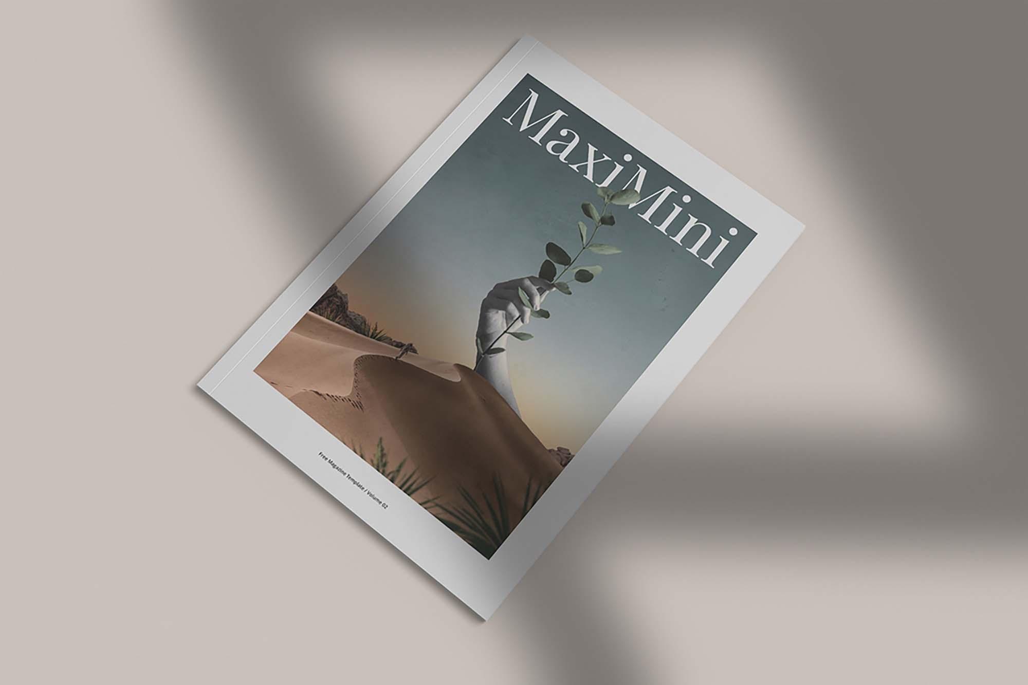 Minimalist Magazine Mockup 4