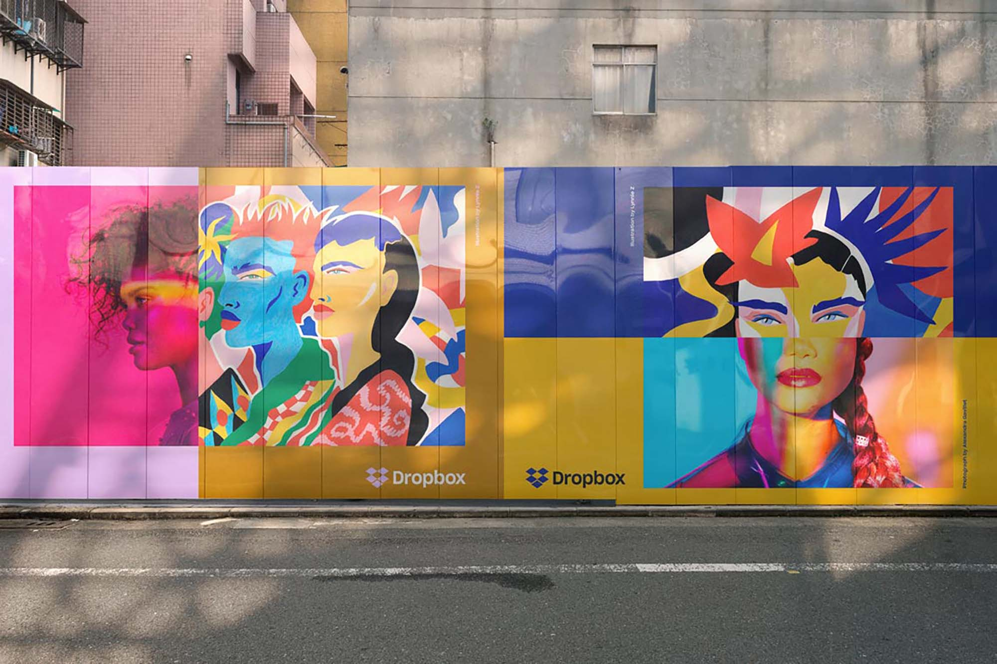 Mural Wall Mockup