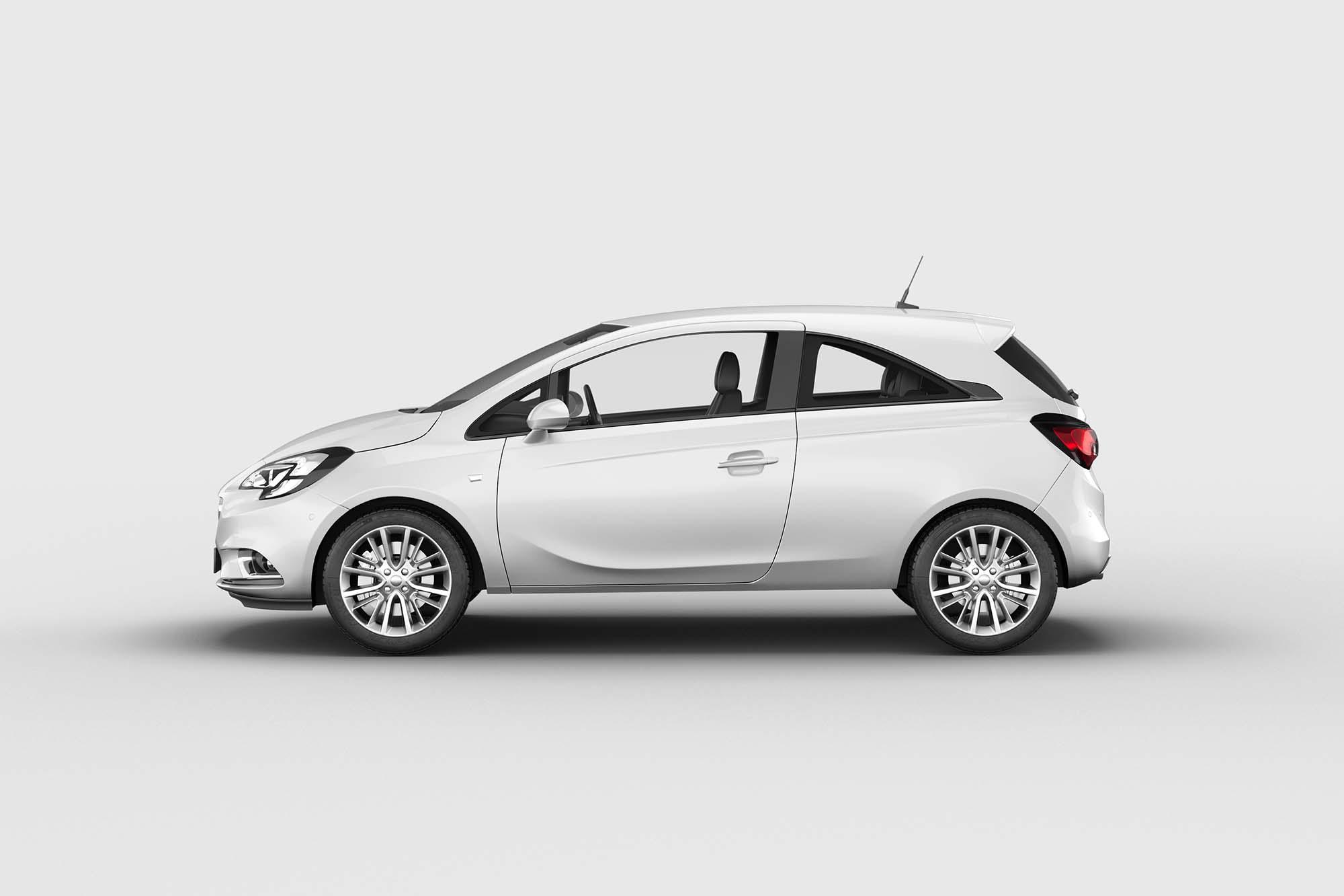 Opel Corsa Car Mockup 2