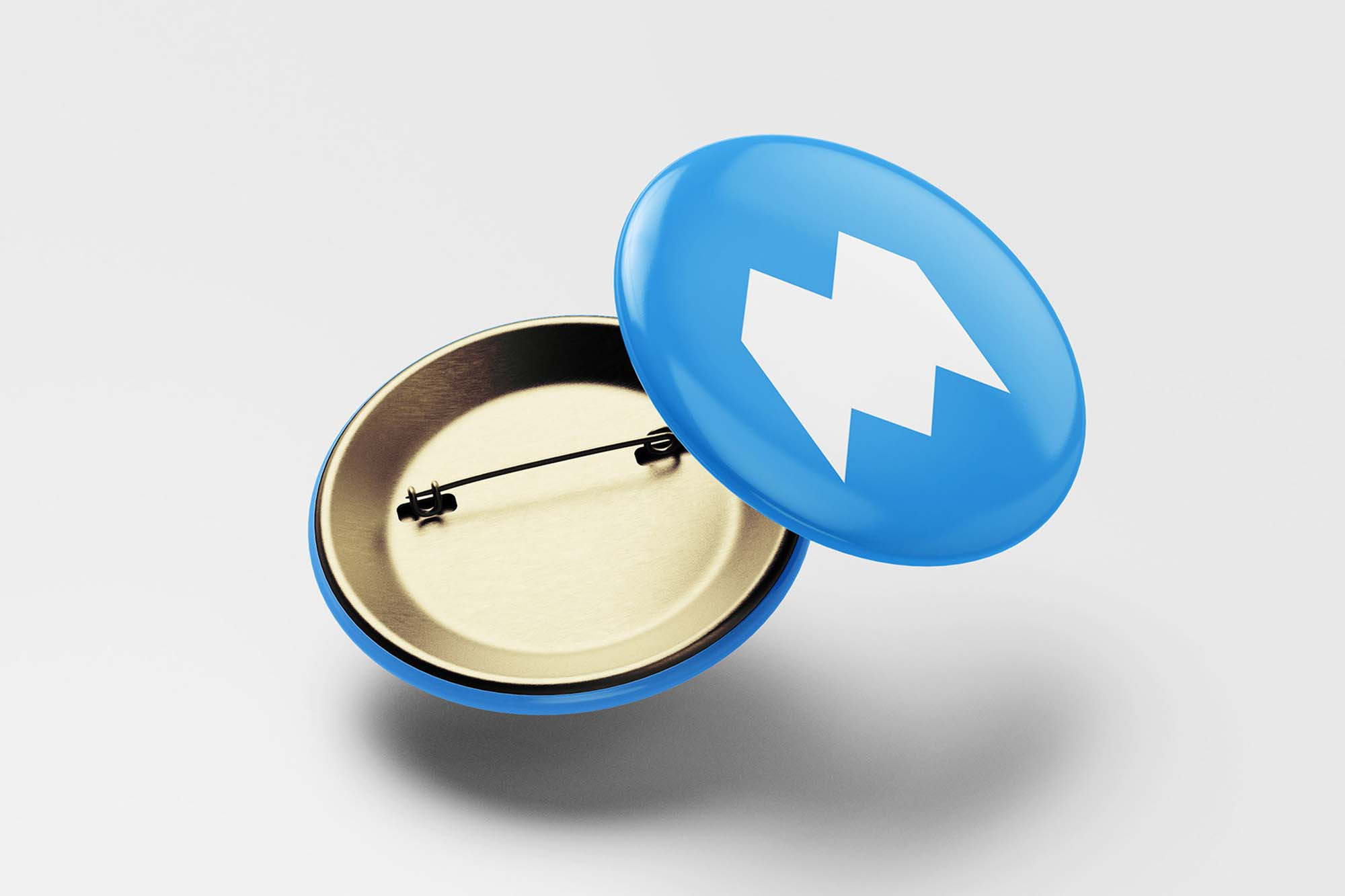 Pin Button Mockup 3