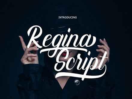 Refina Script Font