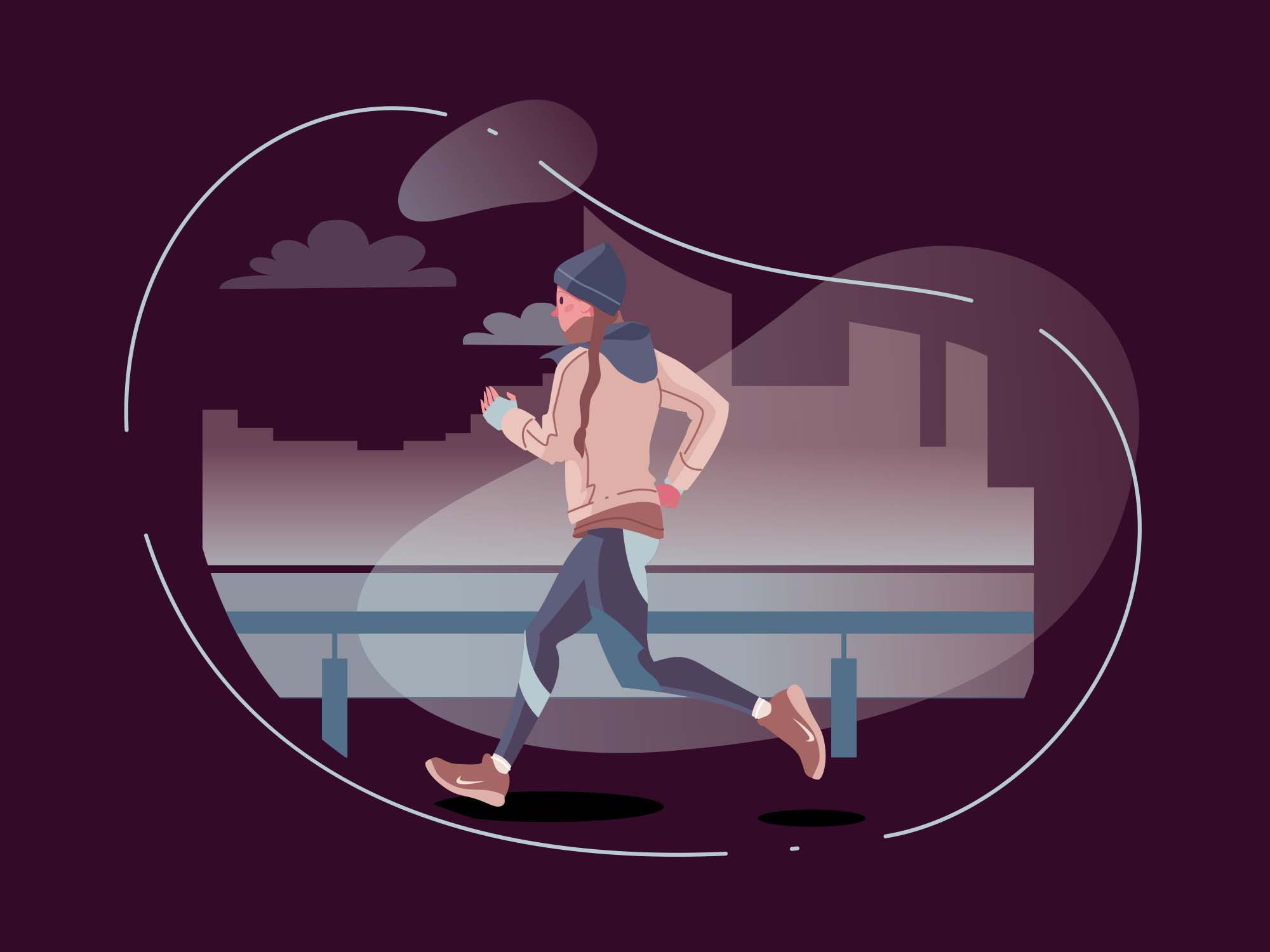 Runner Vector Illustration 2
