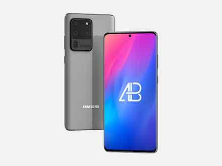 Samsung Galaxy S20 Ultra Mockup