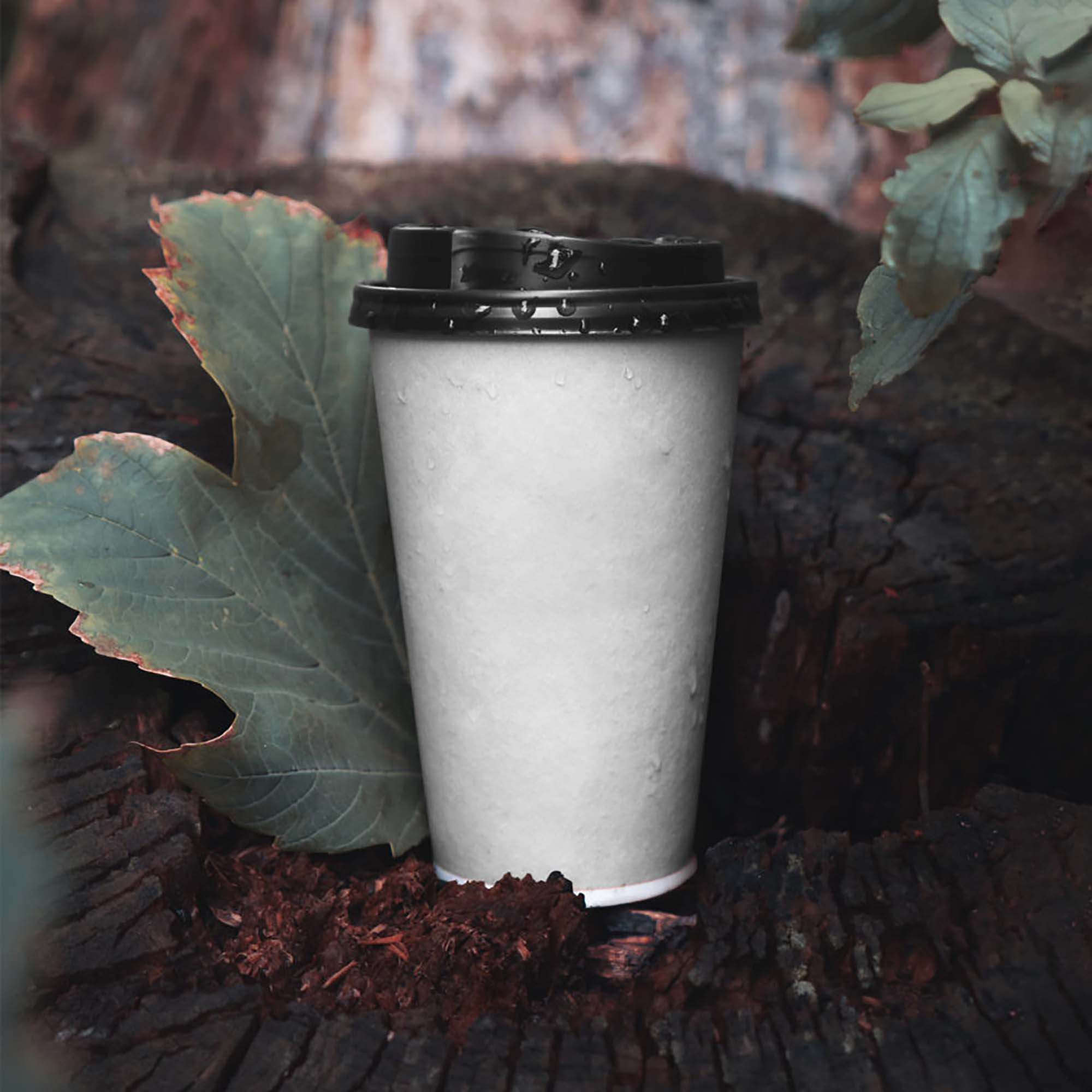 Single Paper Cup Mockup 2