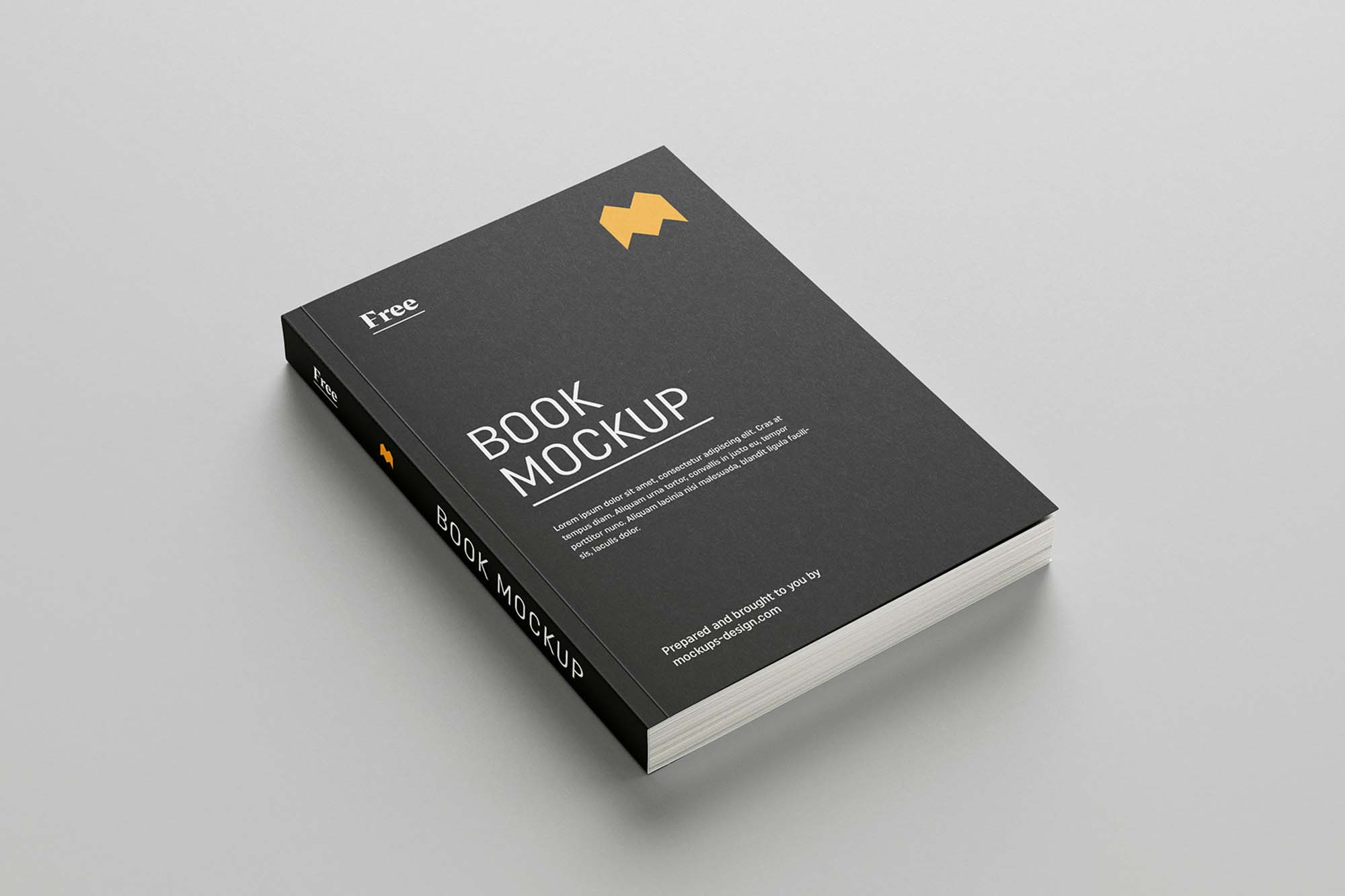 Softcover Book Mockup 1
