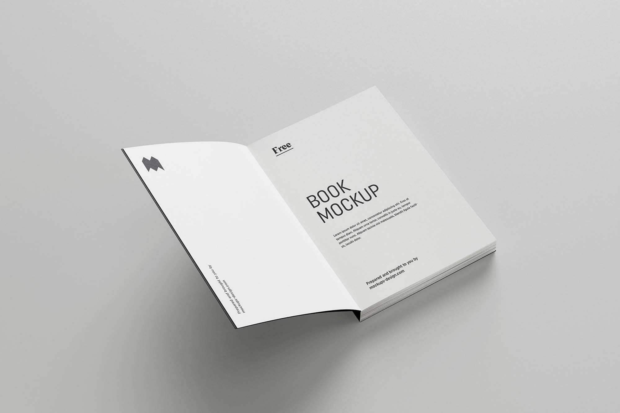 Softcover Book Mockup 2