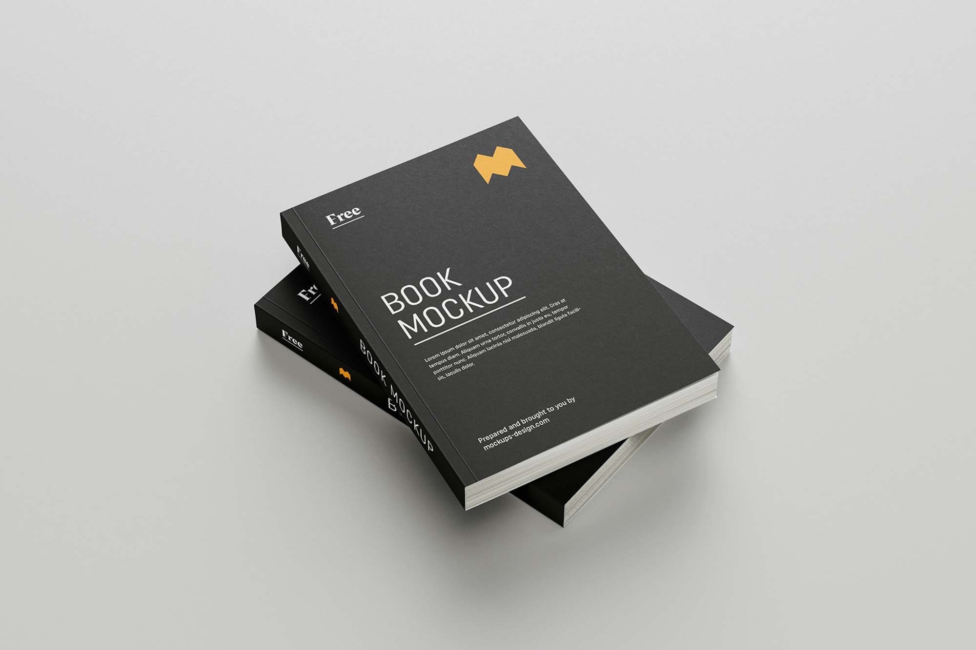 Softcover Book Mockup 4