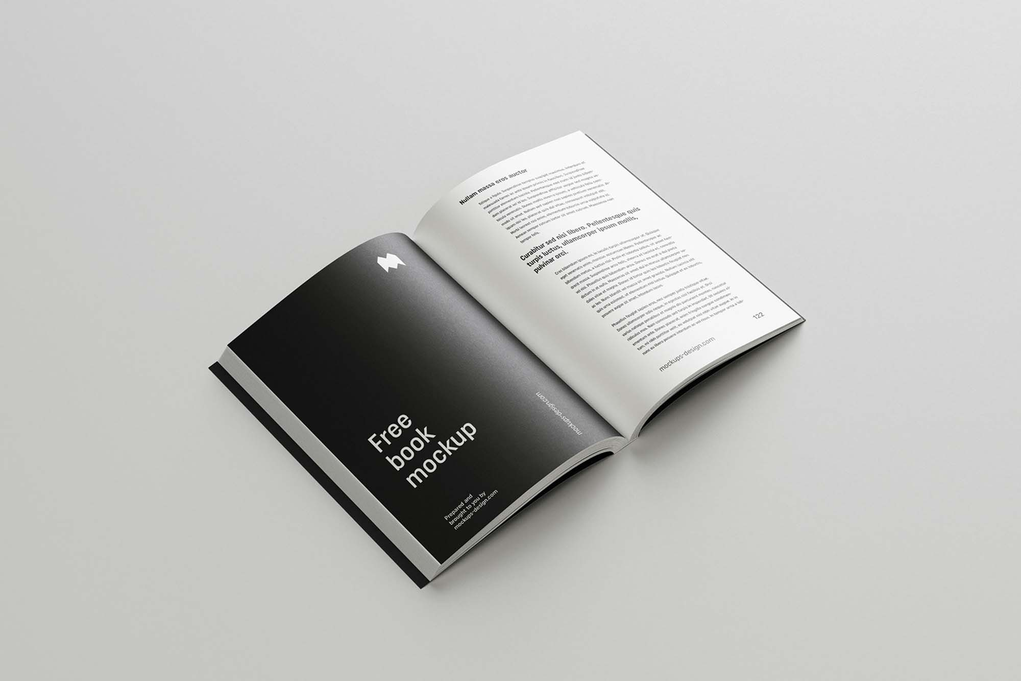 Softcover Book Mockup 5