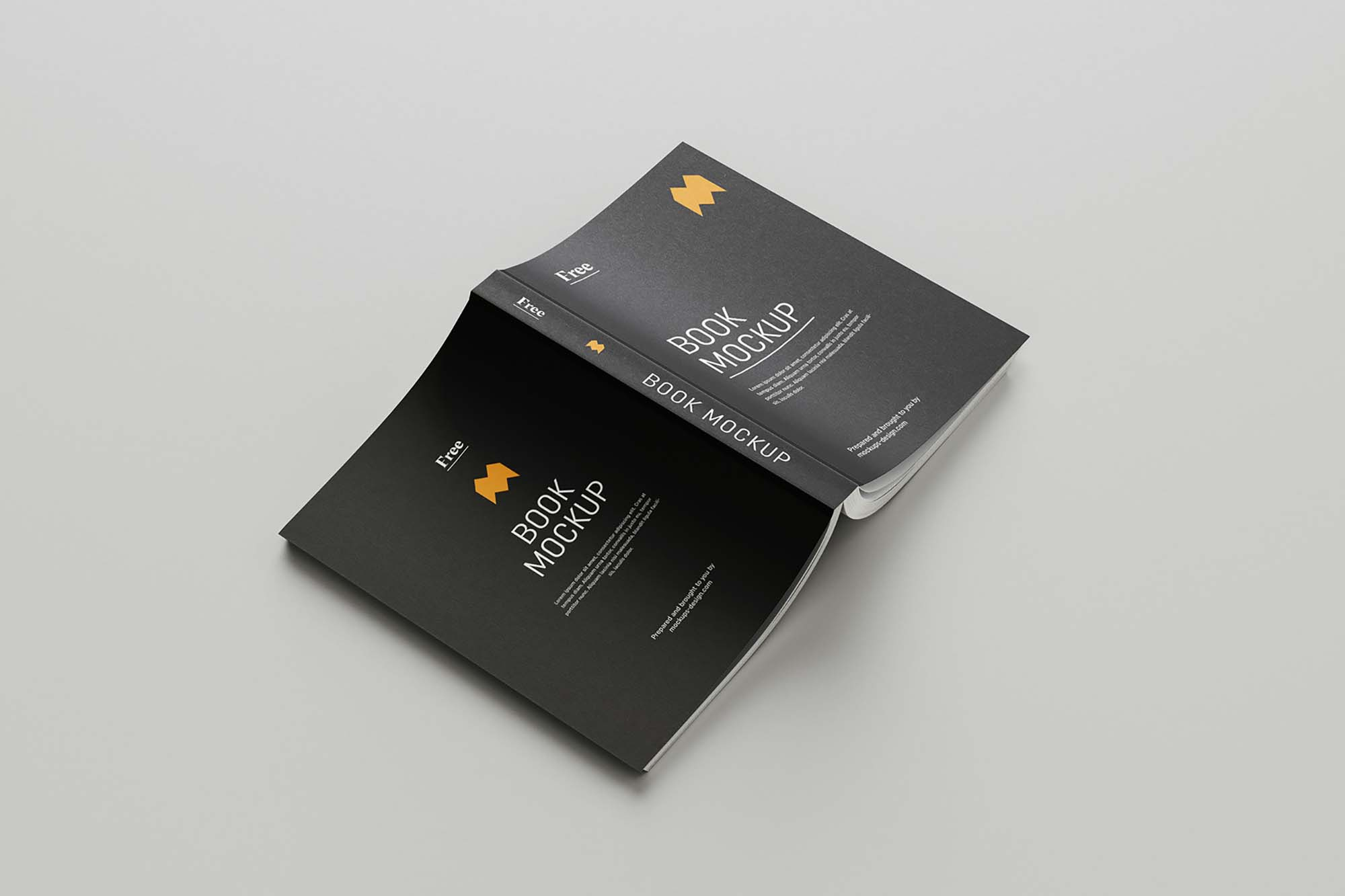 Softcover Book Mockup 7