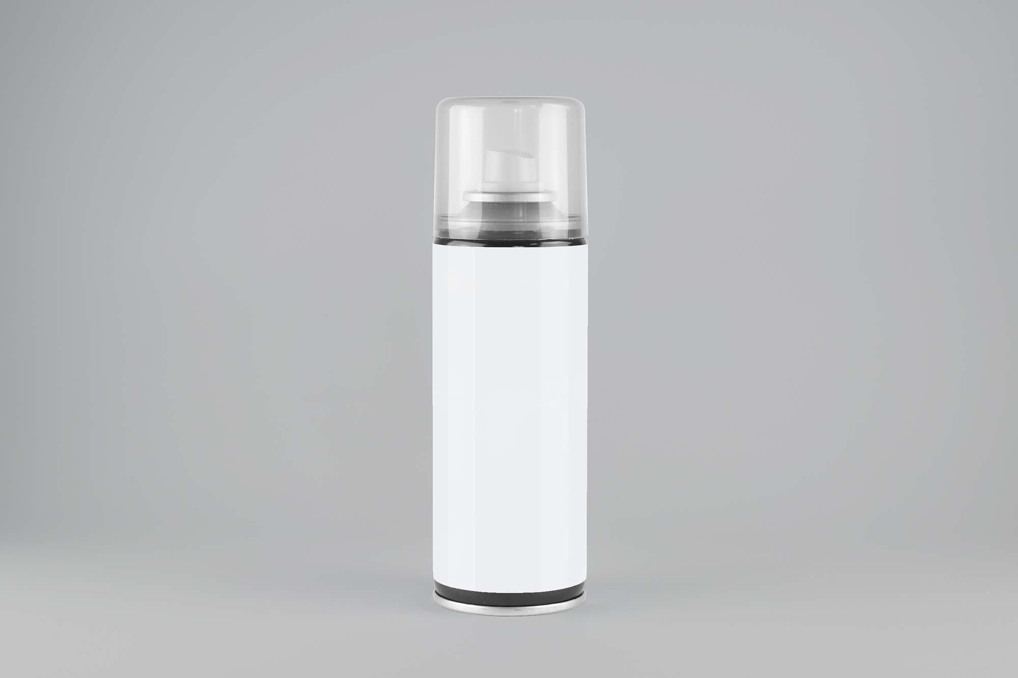 Front View Spray Bottle Mockup 2