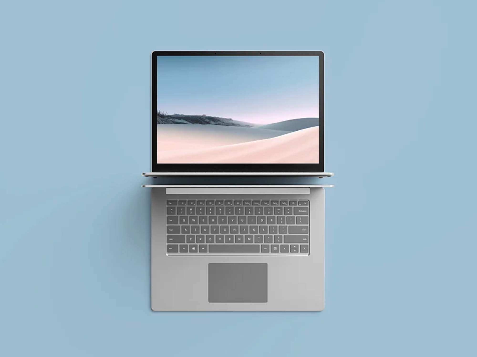 Surface Laptop 3 Mockup