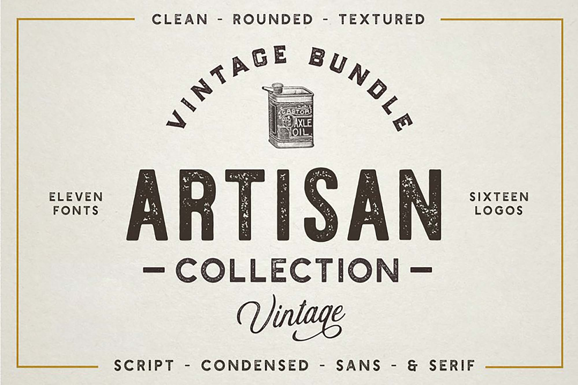 The Artisan Font Bundle