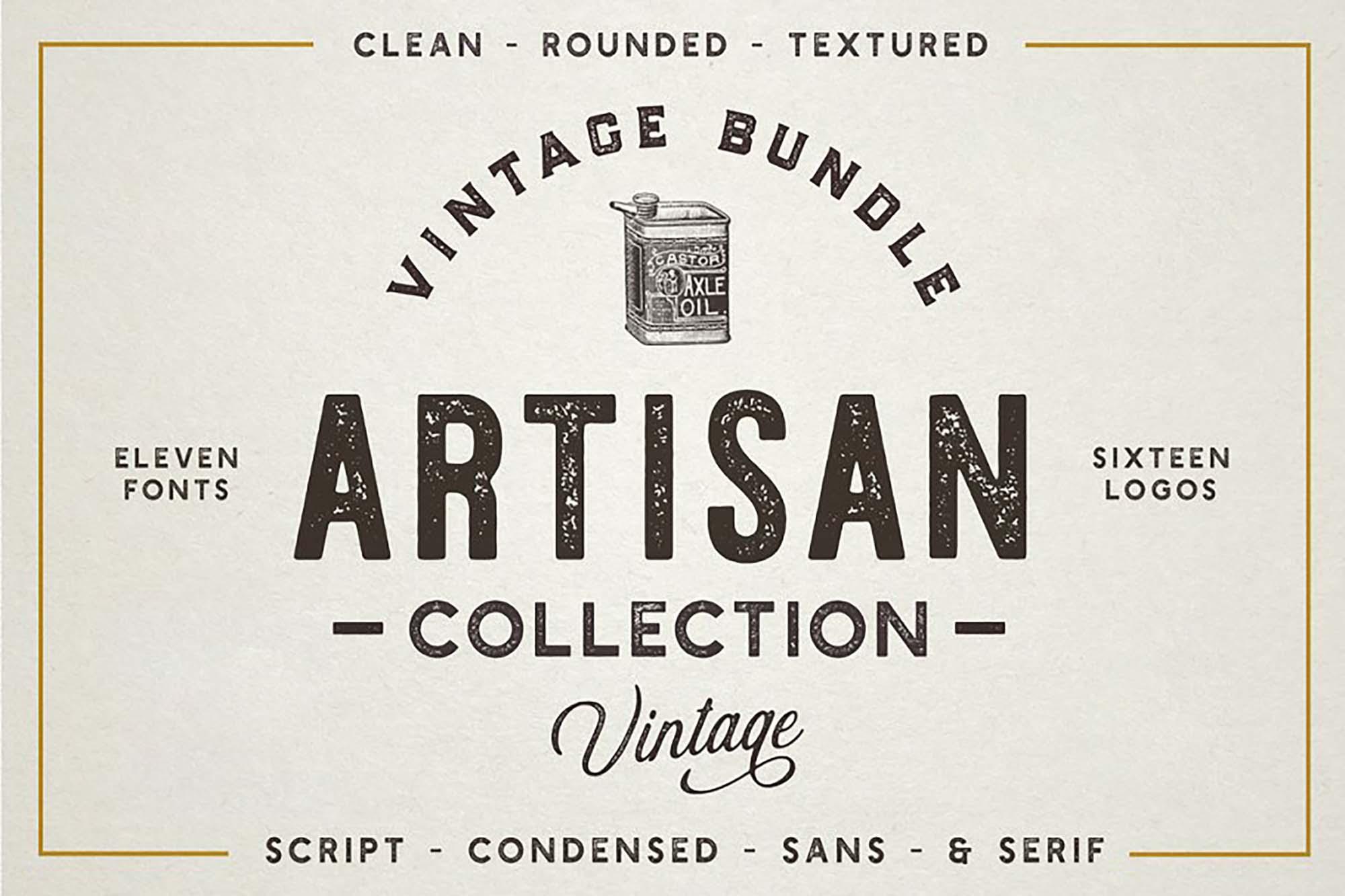 The Artisan Font Bundle