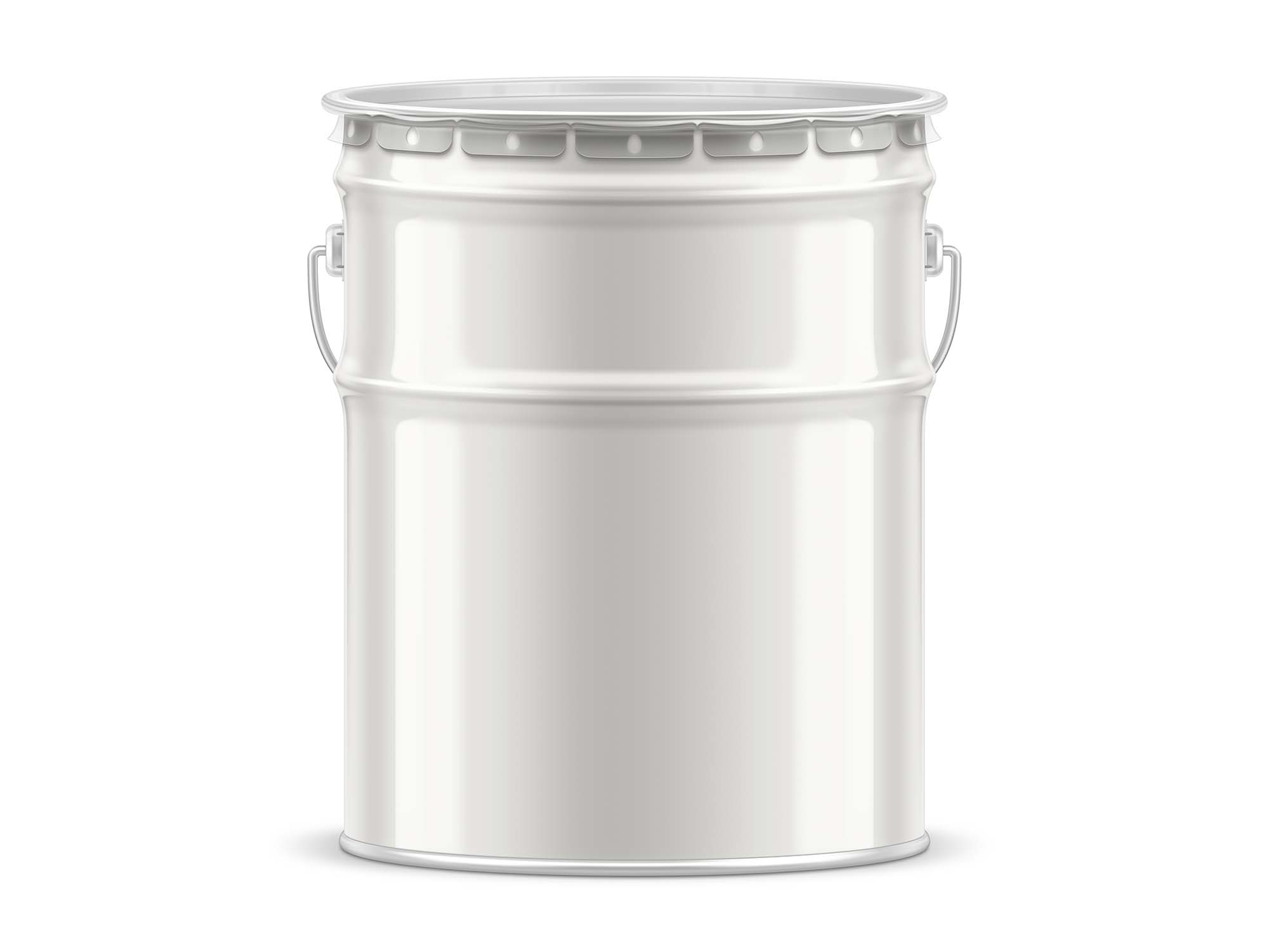 Tin Paint Bucket Mockup 2