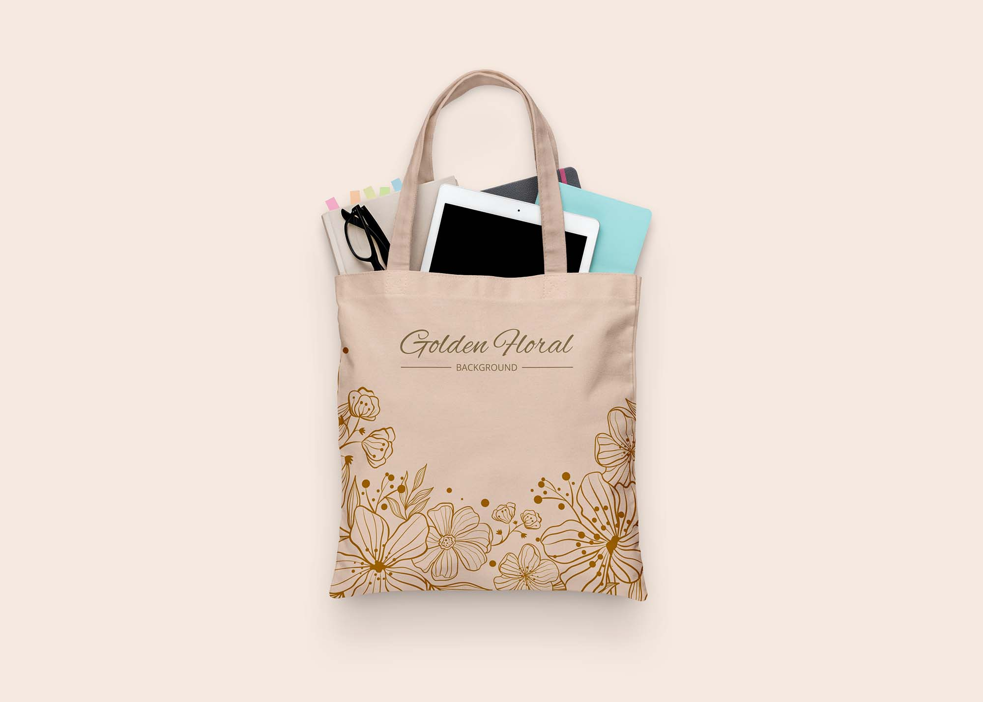 Tote Cloth Bag Mockup