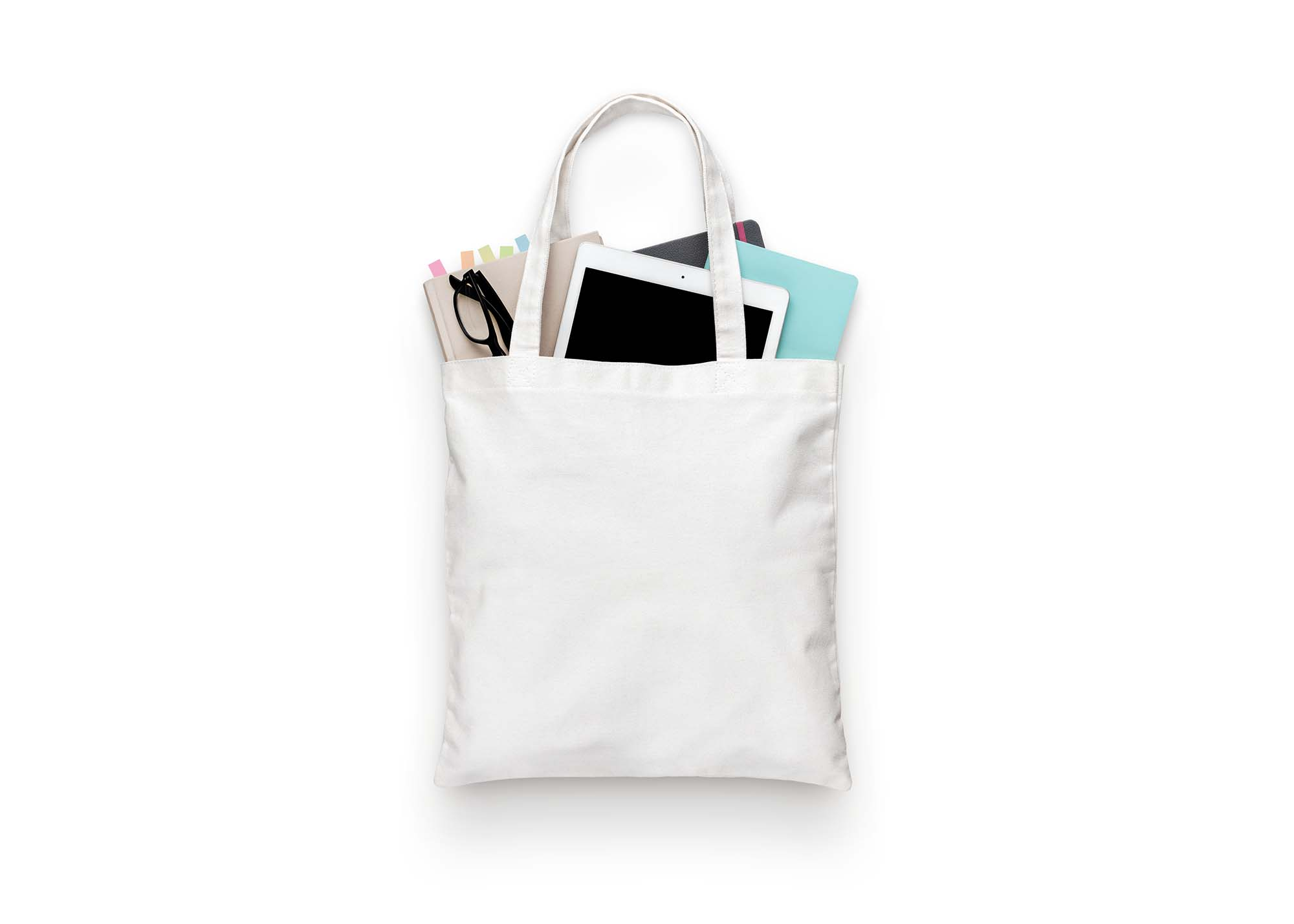 Tote Cloth Bag Mockup 2