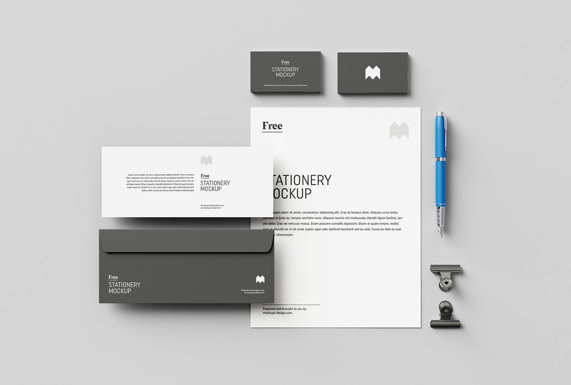 US Stationary Mockup 1