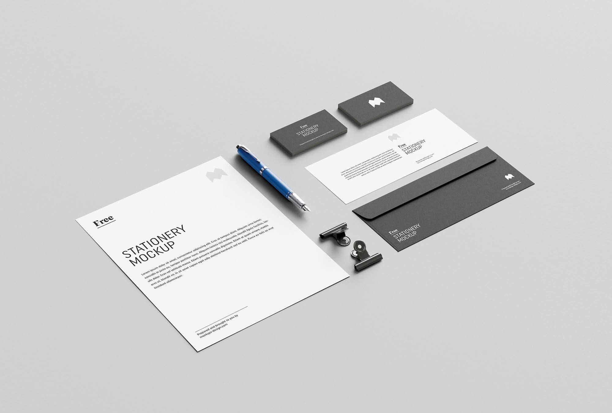 US Stationary Mockup 3