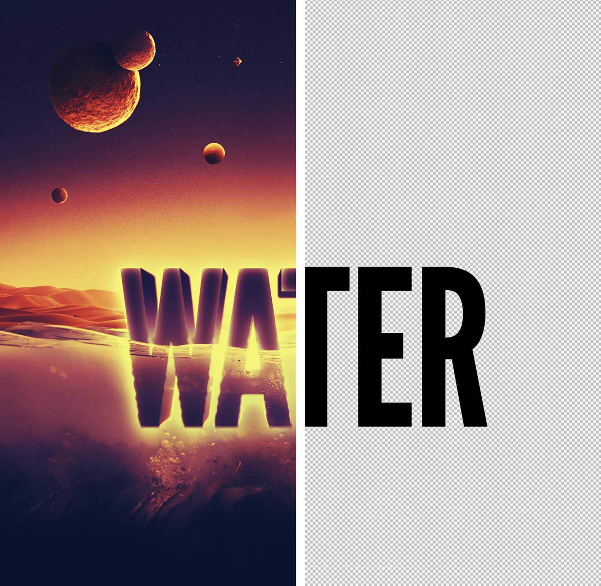 Underwater Text Effect 3