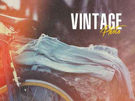 Vintage Photoshop Effects