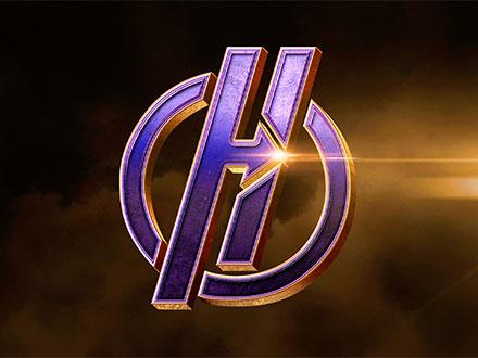 3D Superhero Logo Mockup