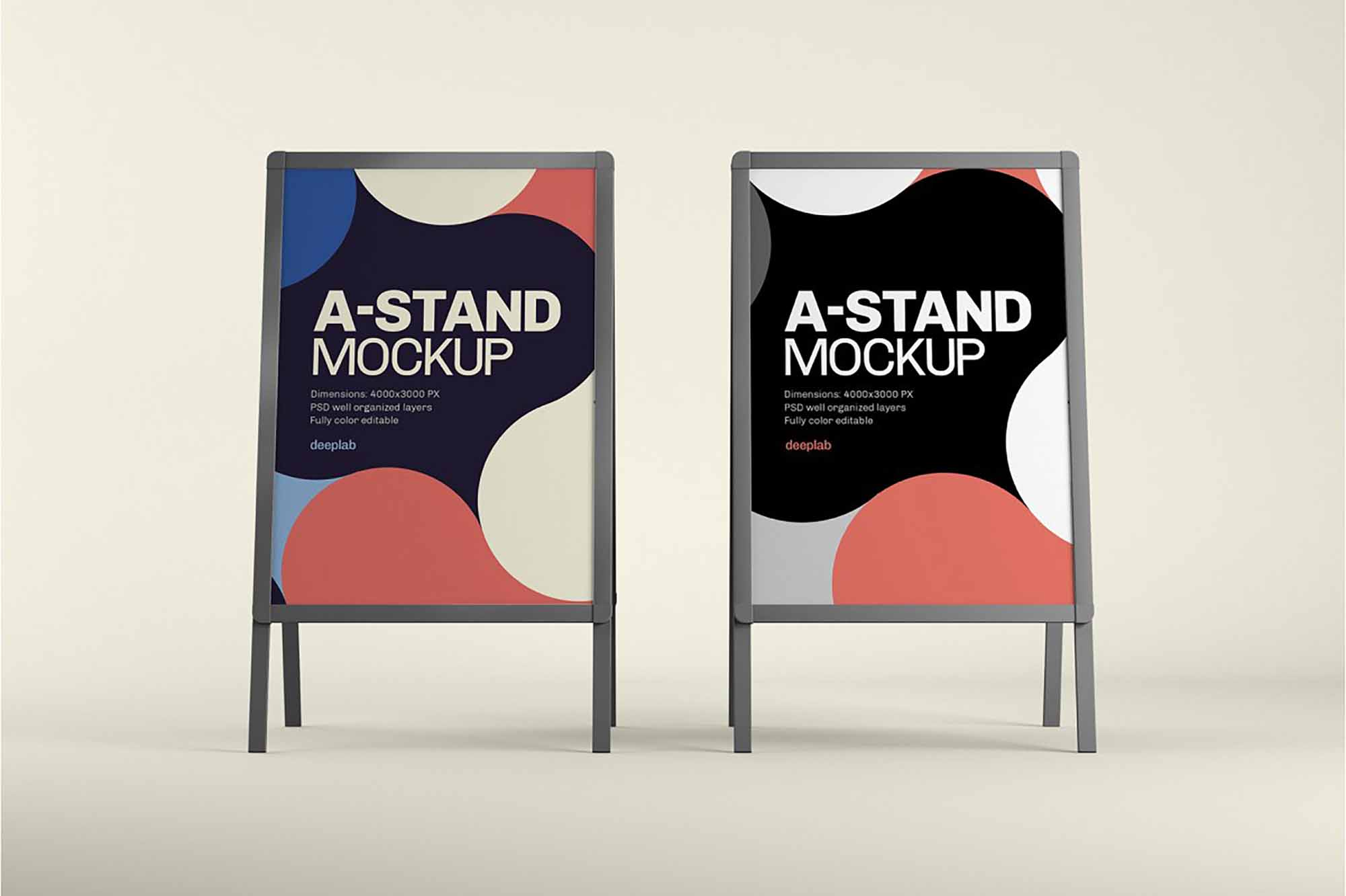 Advertising A-Stand Mockup 4