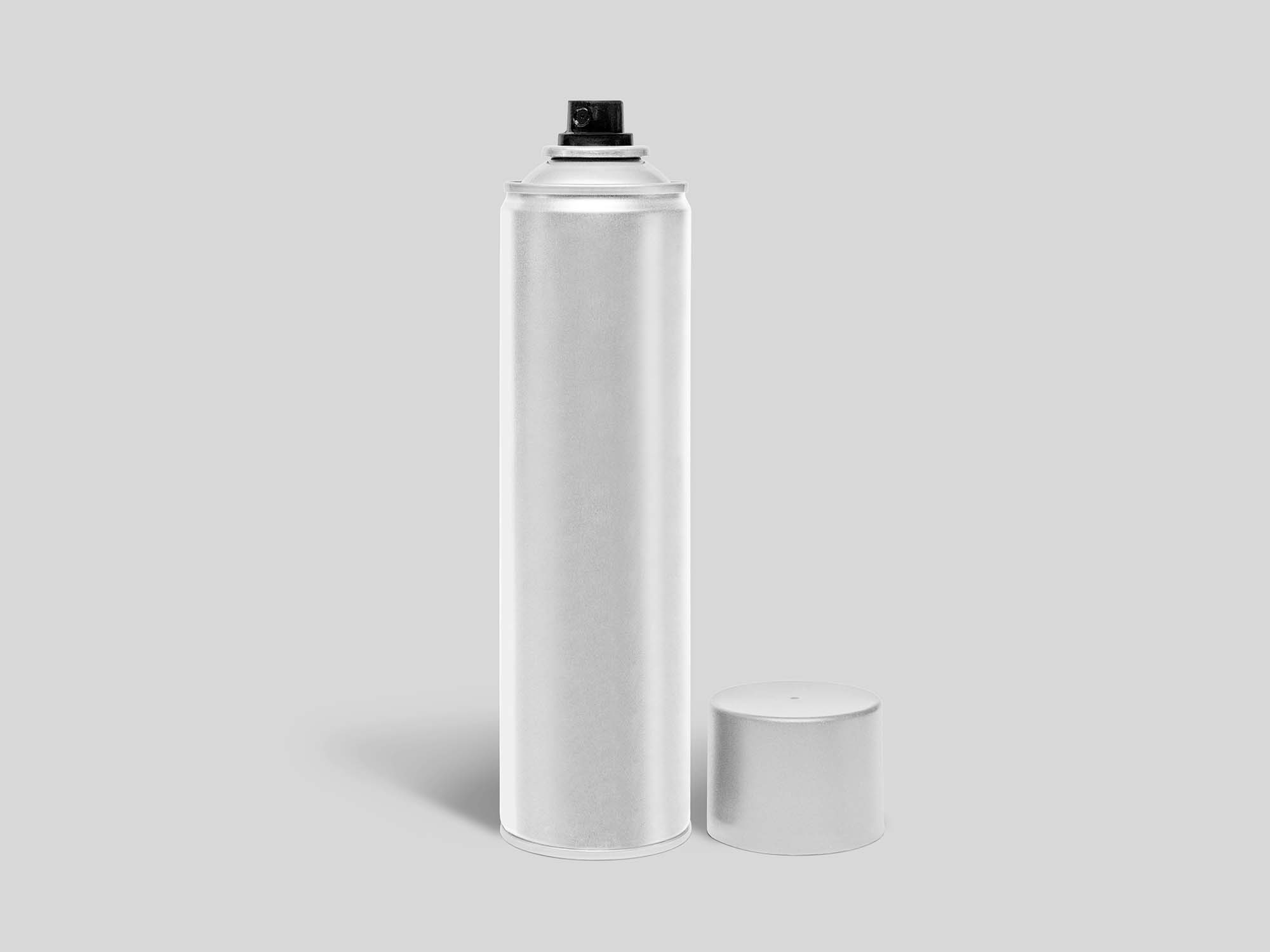 Aerosol Spray Can Mockup 2