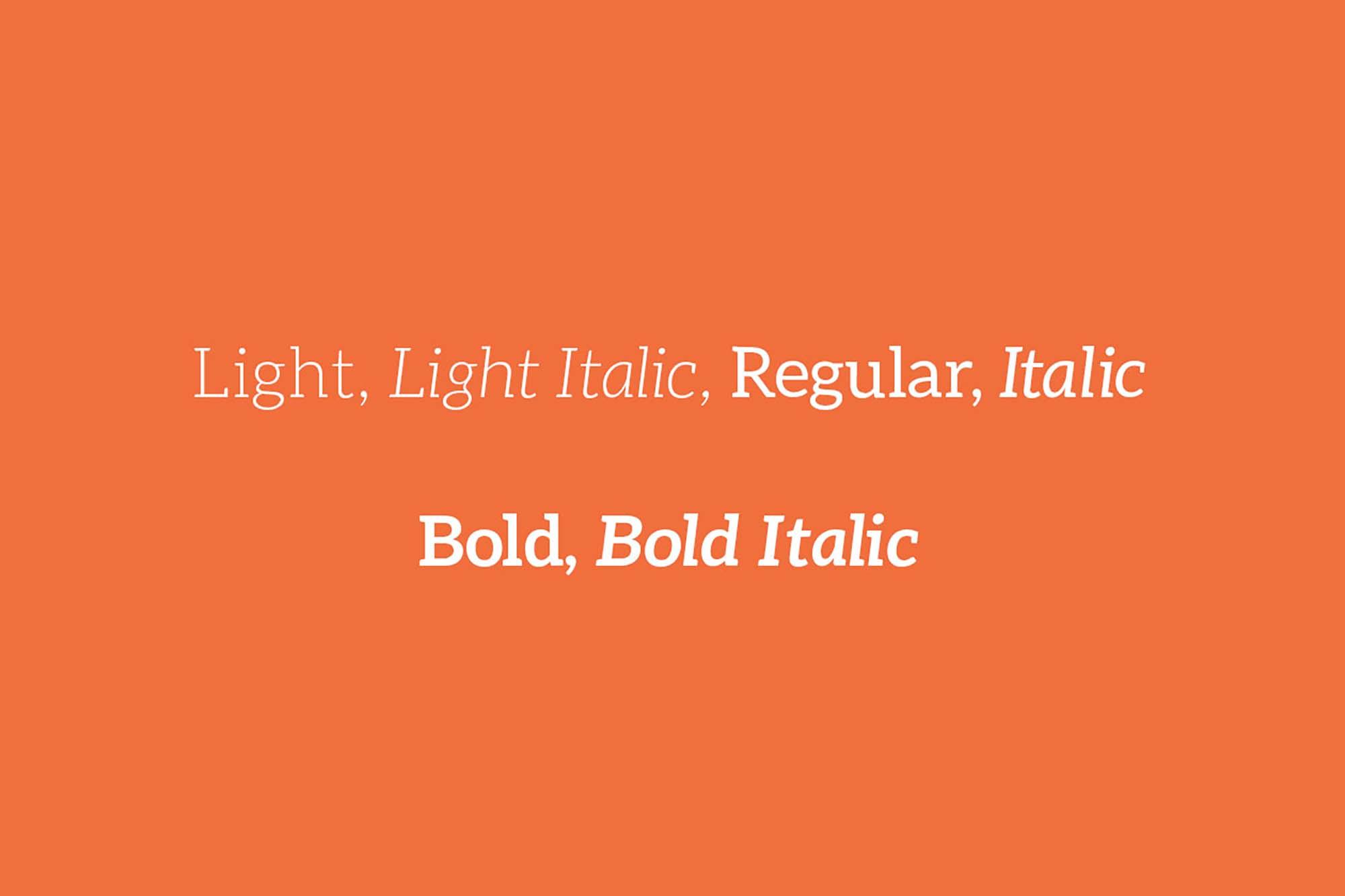 Aleo Slab Serif Font 2