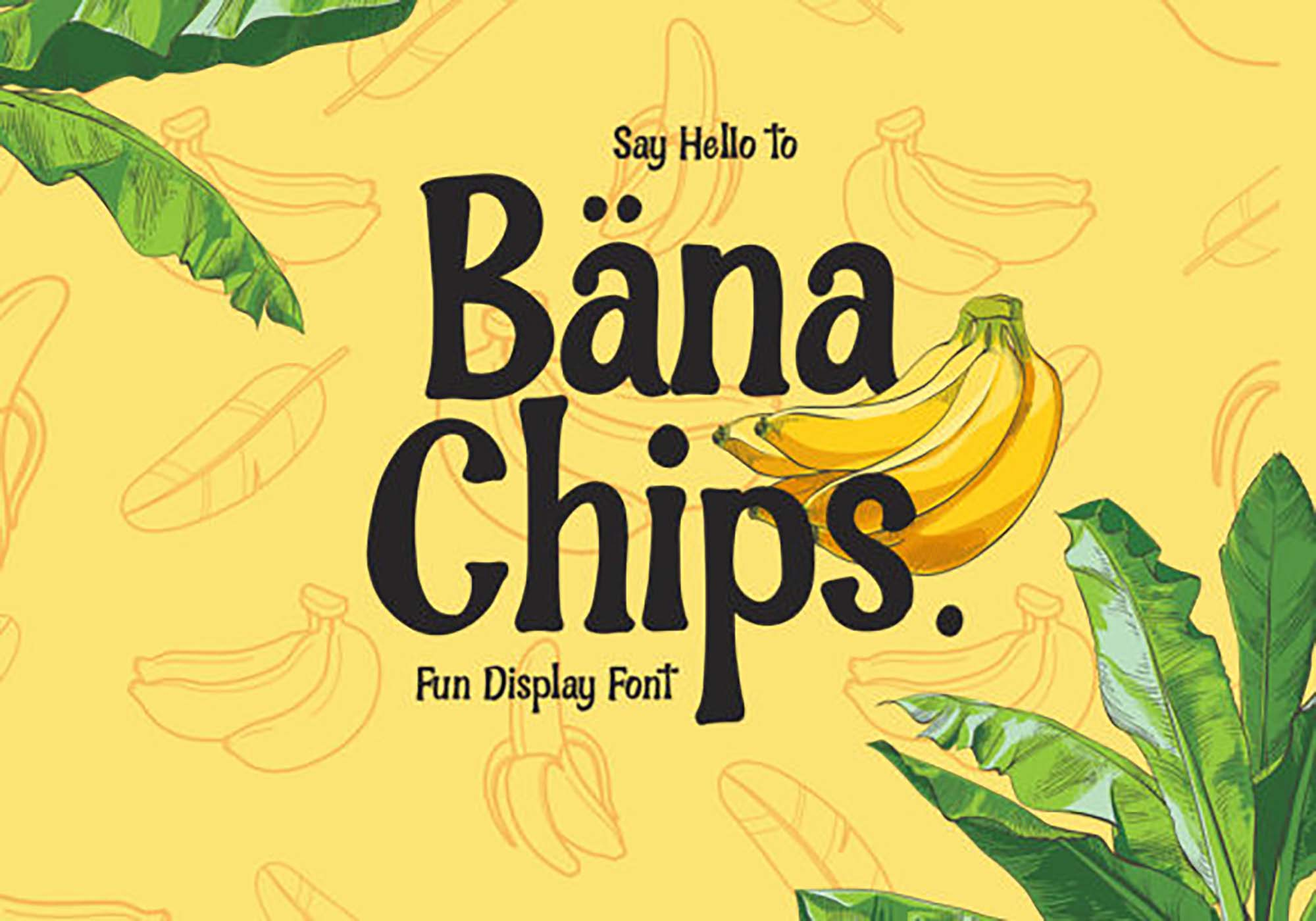 Ban Chips Font