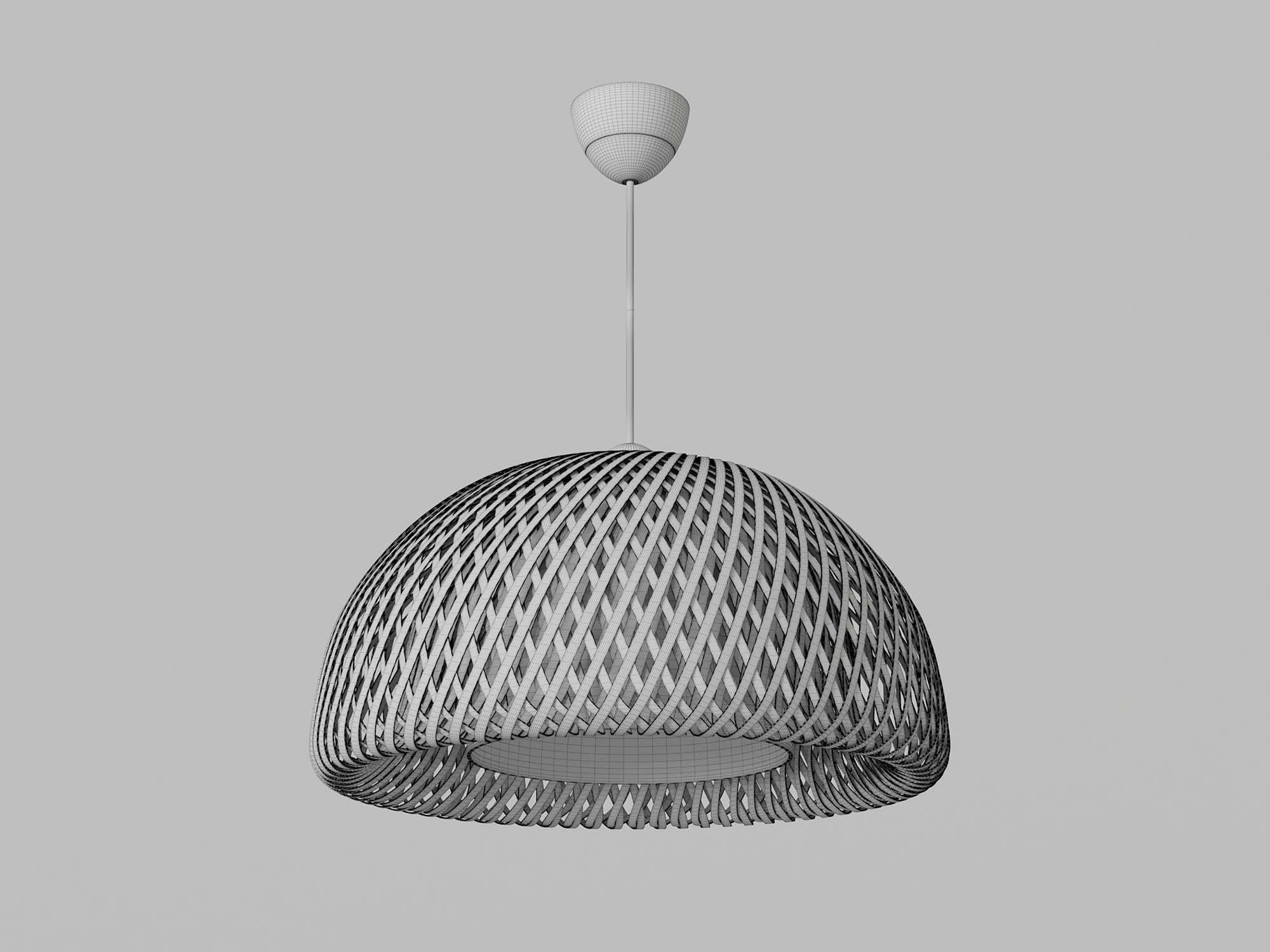Boja Pendant Lamp 3D Model 3