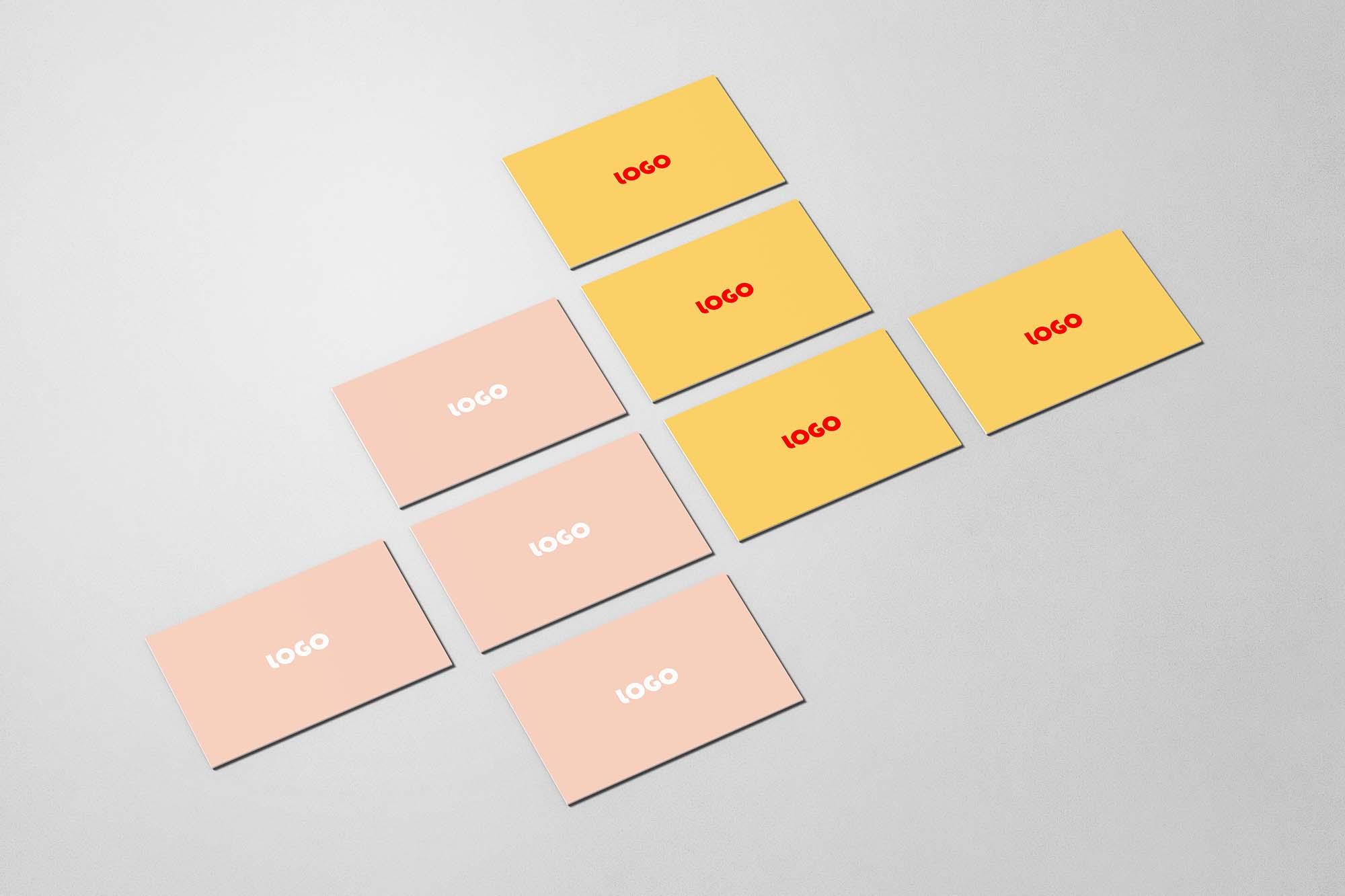 Business Cards Mockup 3