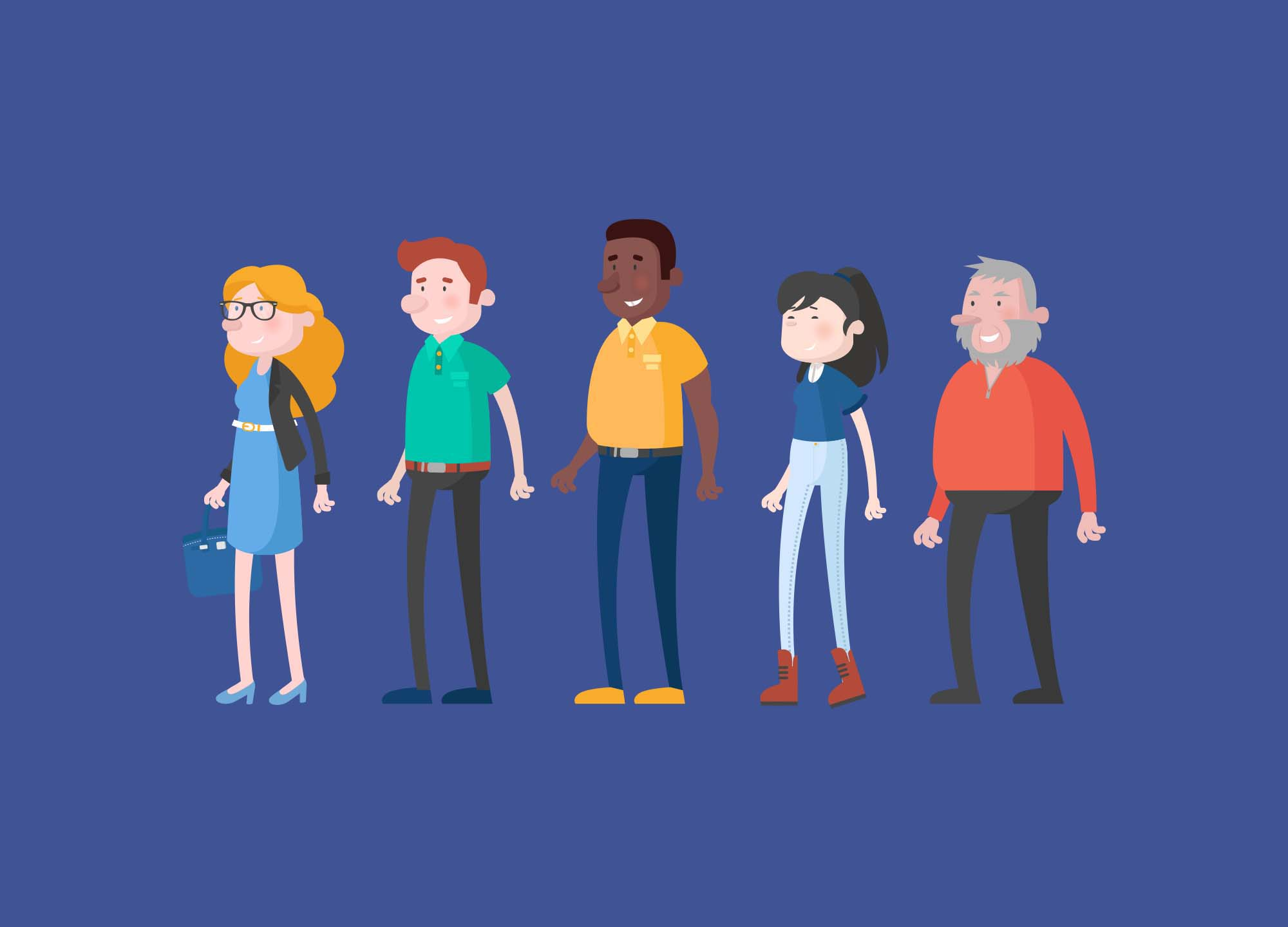 Casual Vector Characters 2
