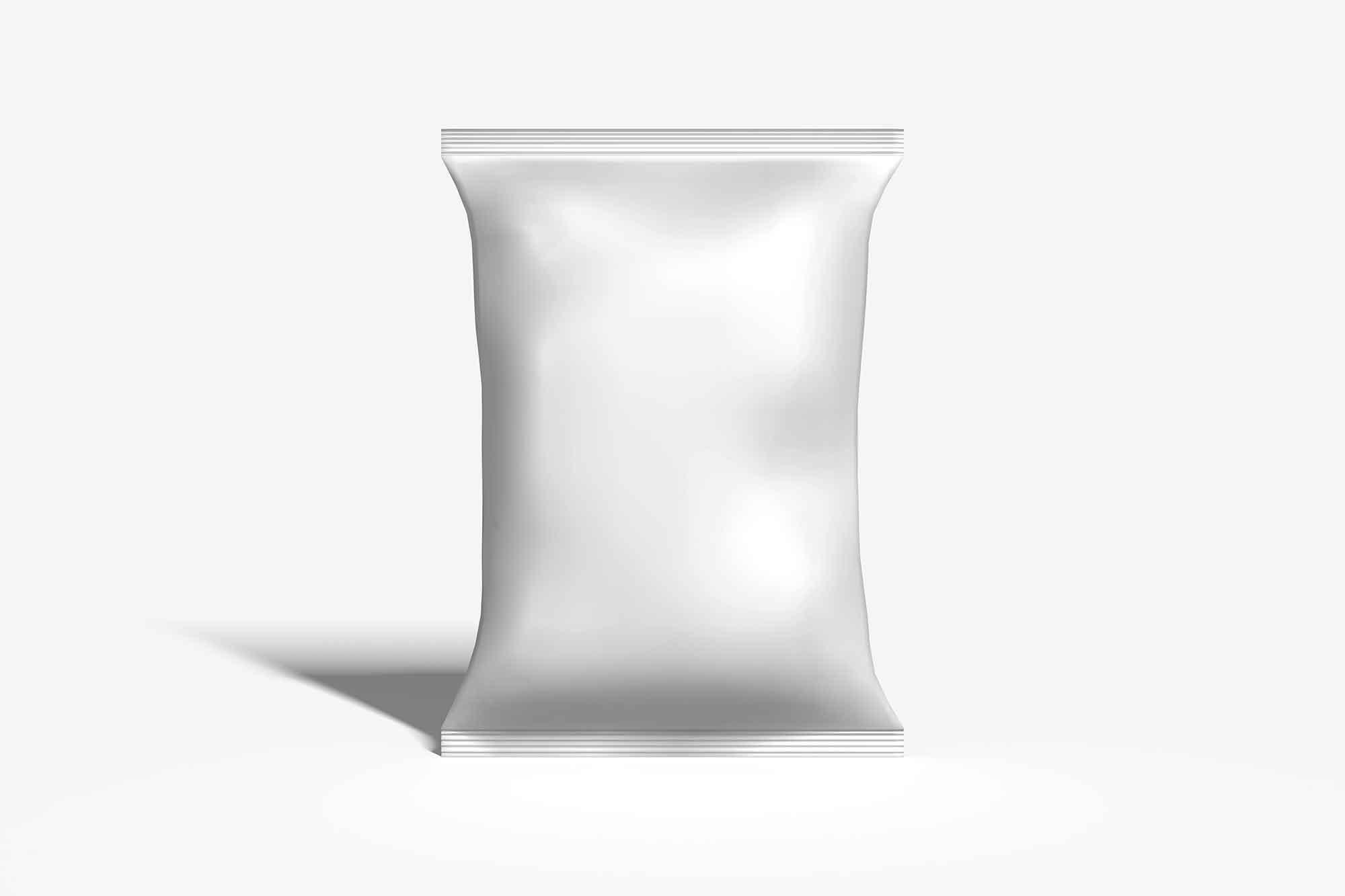 Chips Packaging Bag Mockup 2